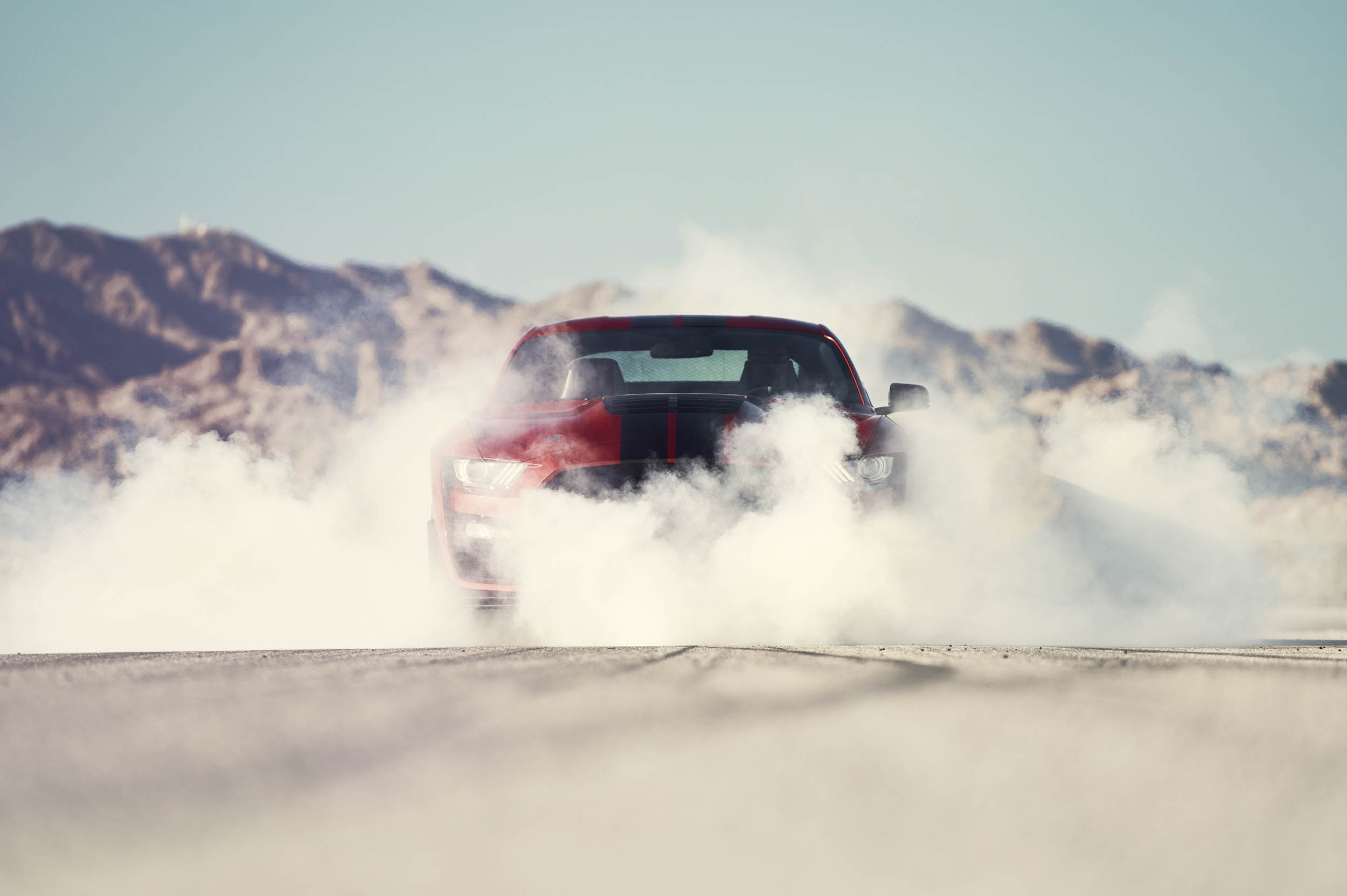 2020 Mustang Shelby GT500 burnout