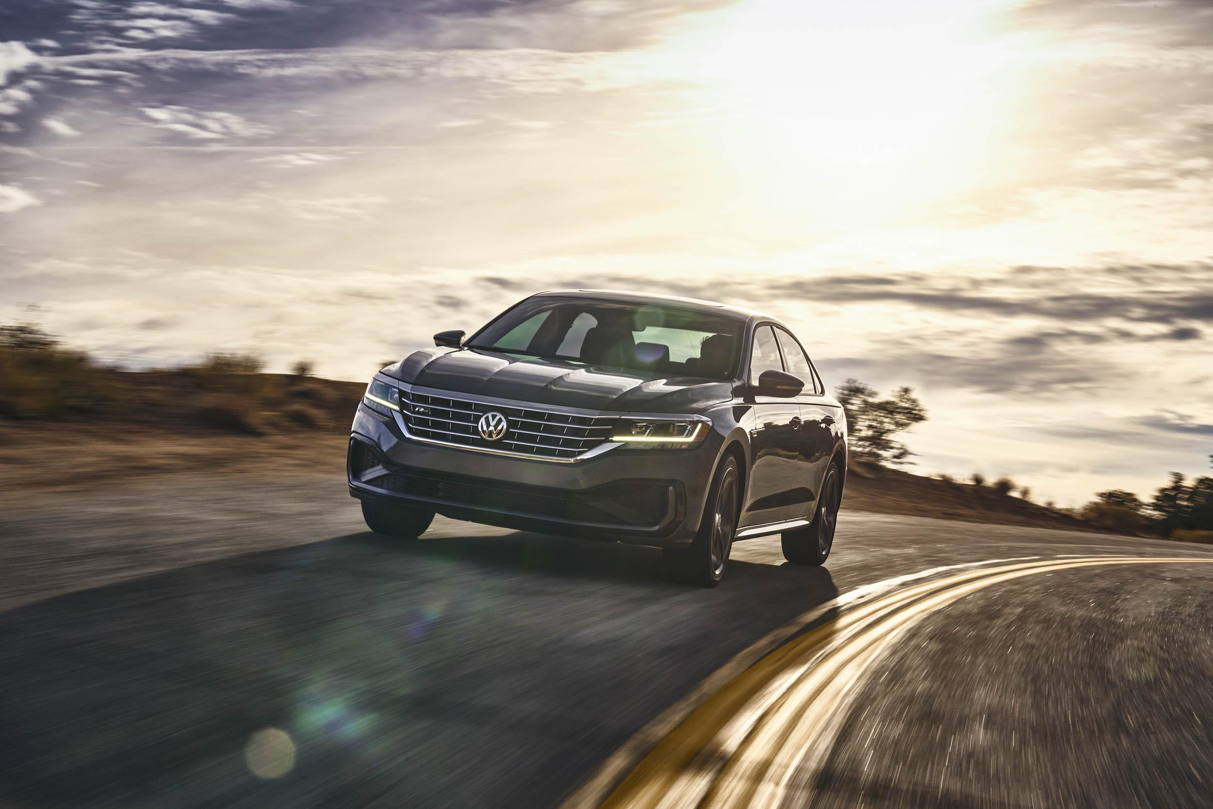 2020 Volkswagen Passat driving