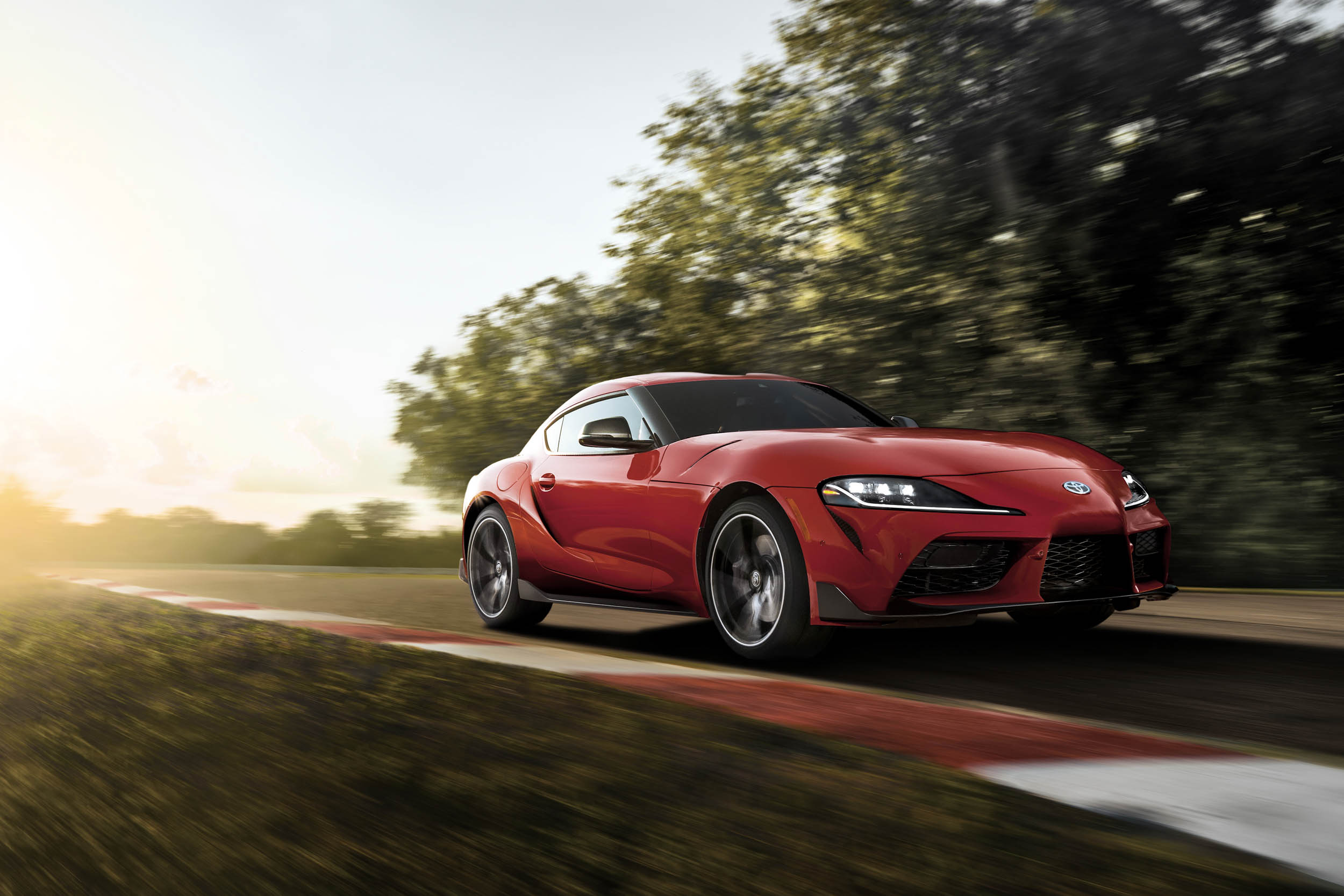 2020 Toyota Supra low front 3/4