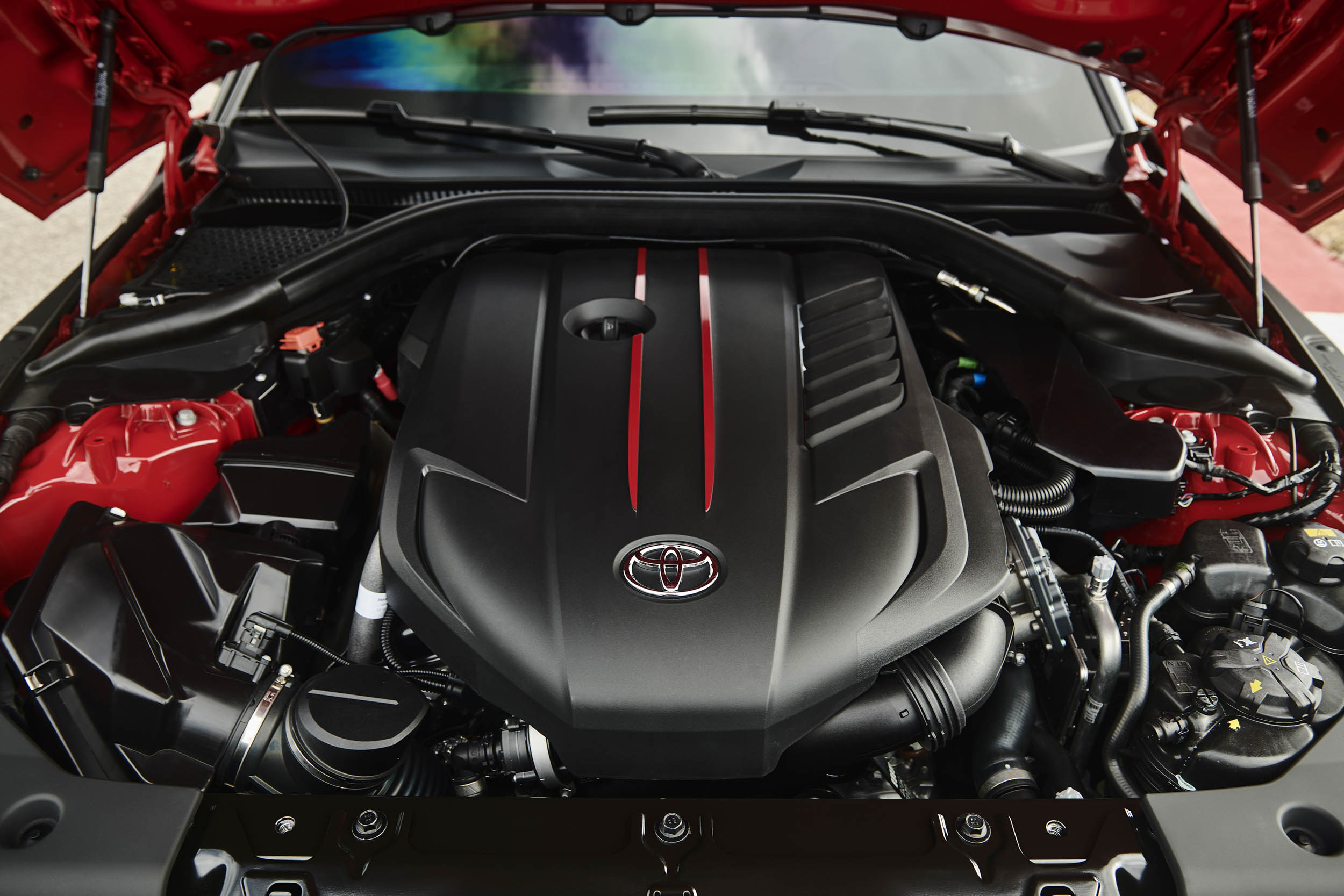 2020 Toyota Supra engine