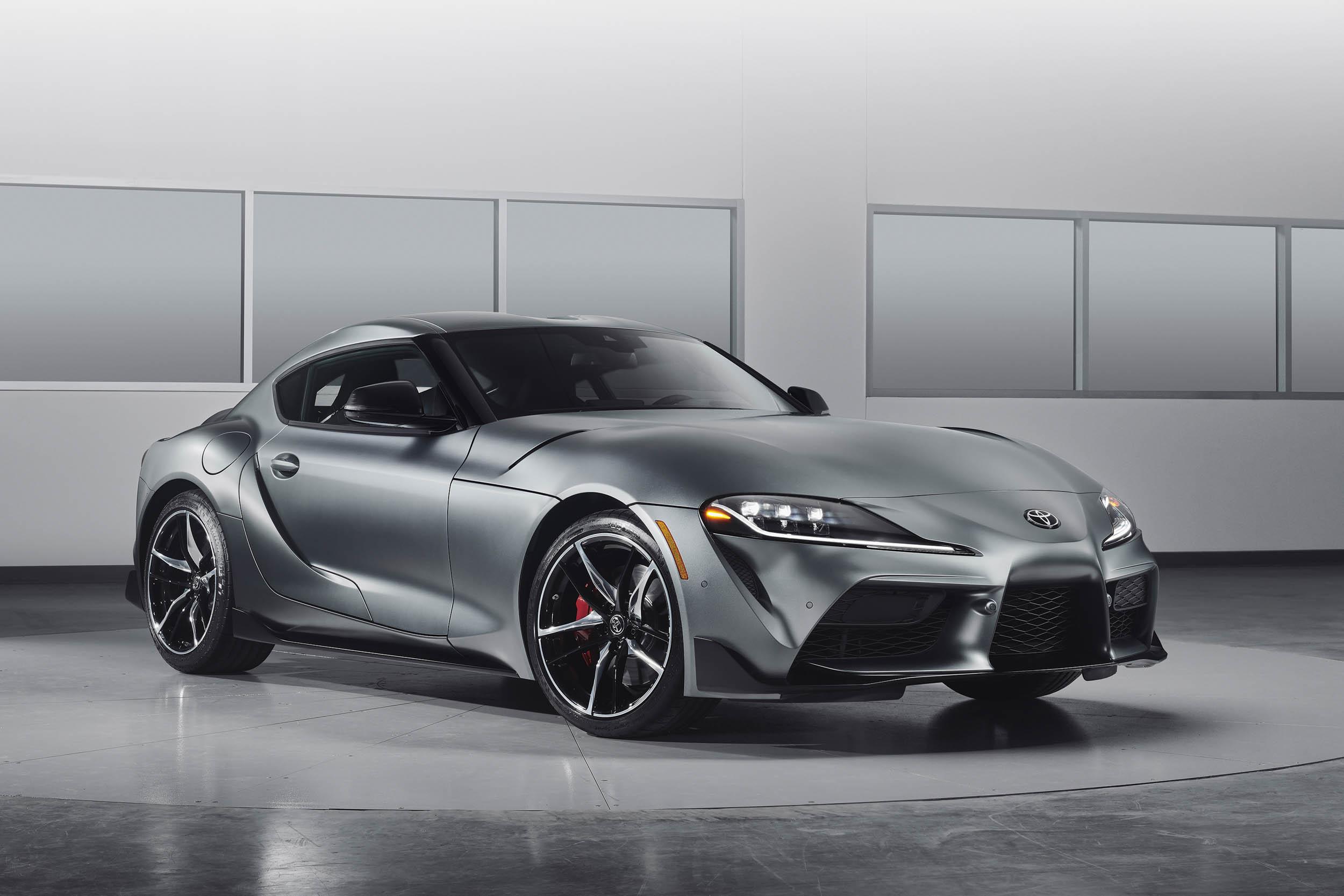 2020 Toyota Supra Matte Grey
