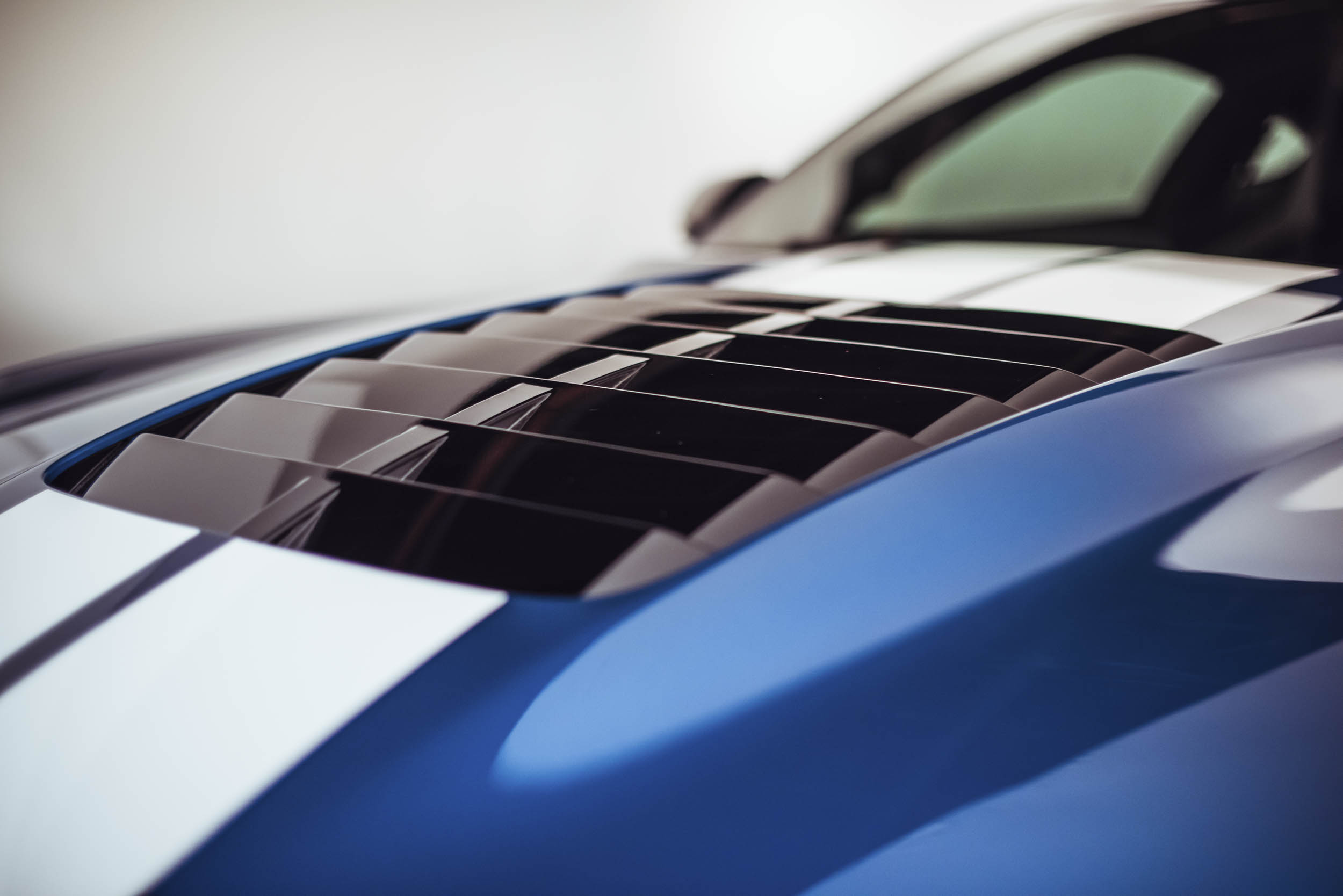 2020 Shelby GT500 hood vents