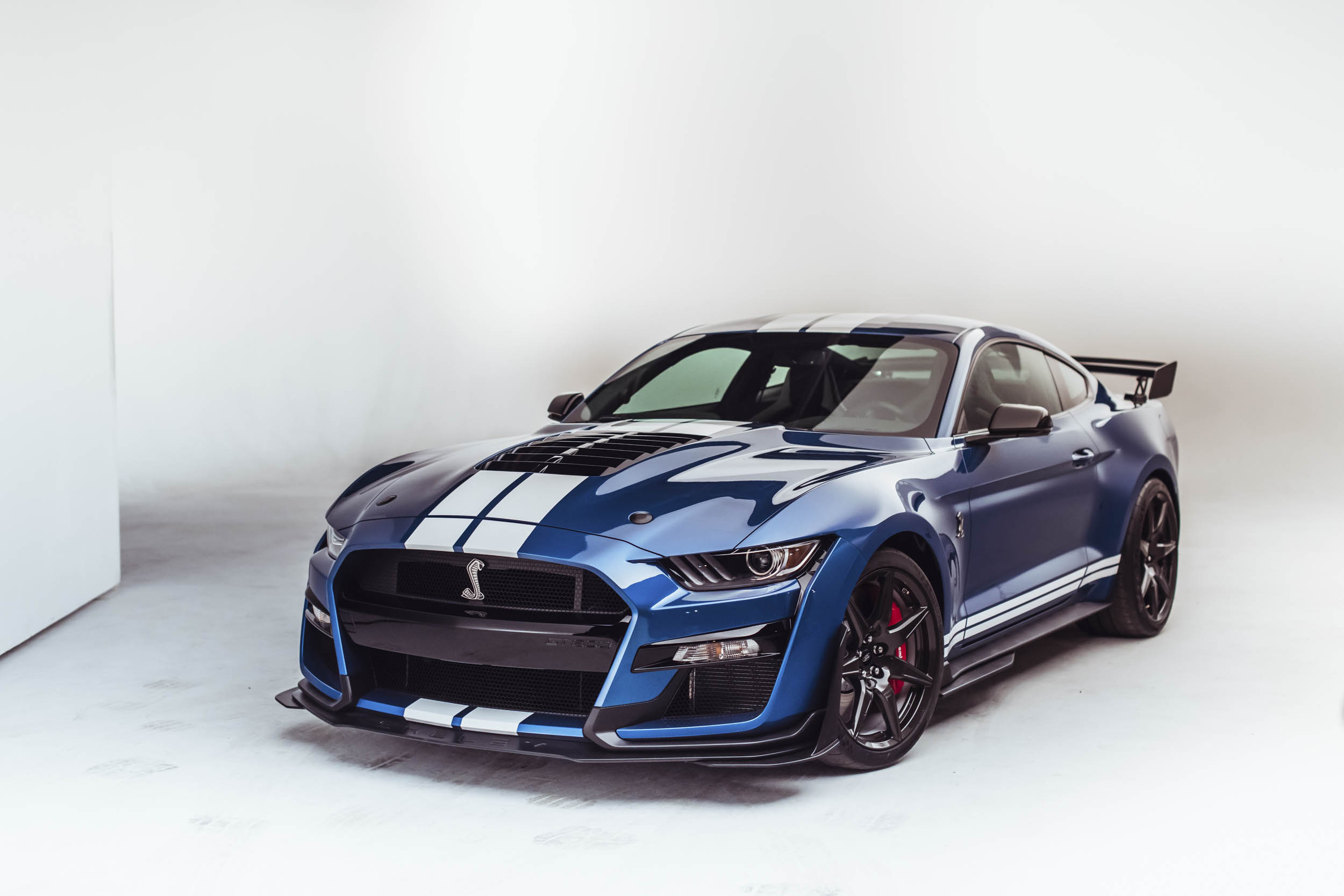 2020 Shelby GT500 front 3/4