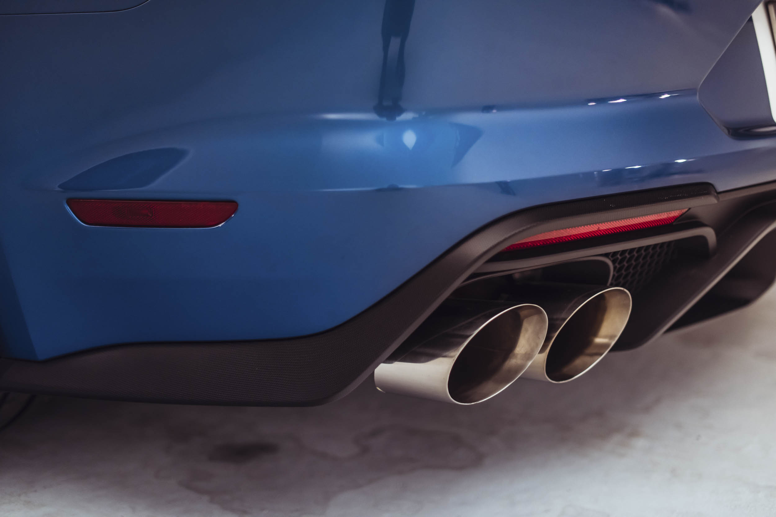 2020 Shelby GT500 exhaust tips