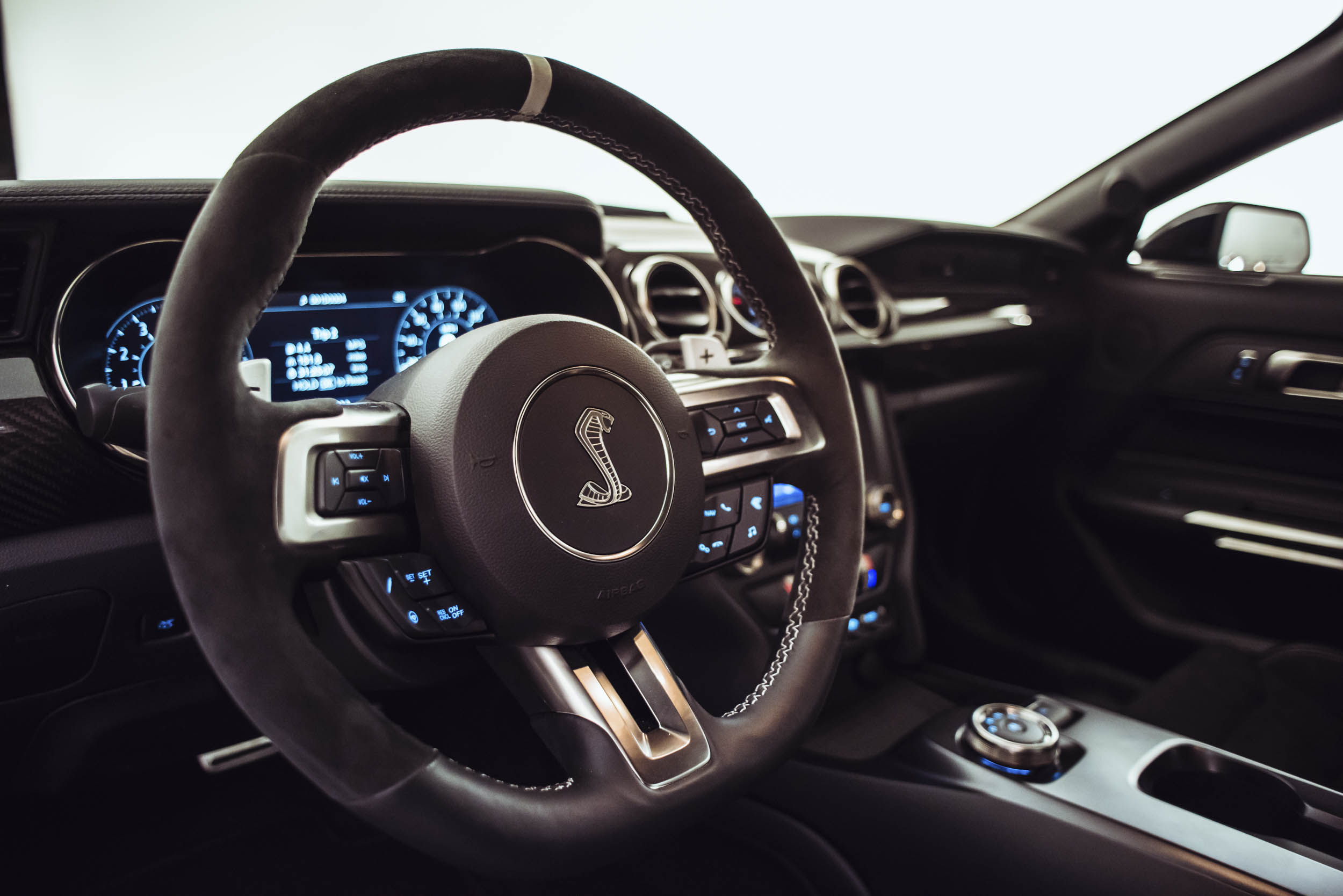 2020 Shelby GT500 steering wheel