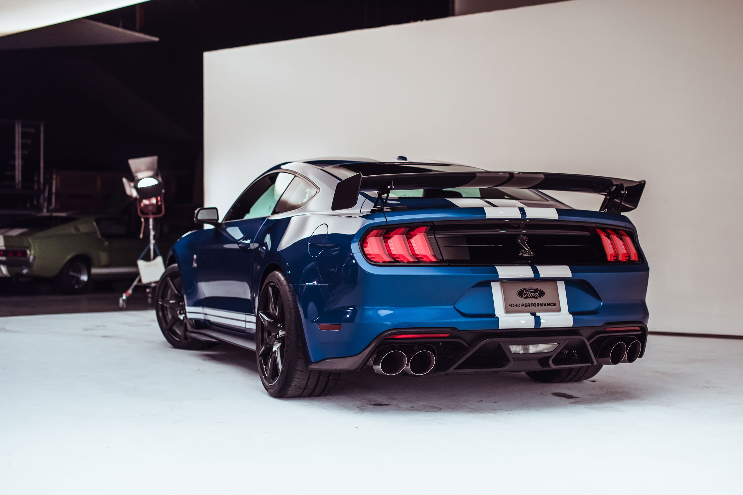 2020 Shelby GT500 low rear 3/4