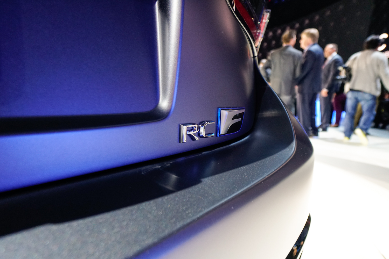 2020 Lexus RC F Track Edition badge