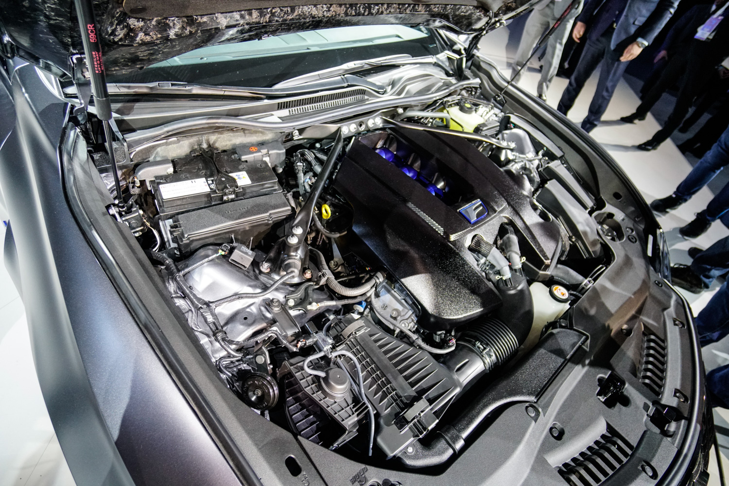 2020 Lexus RC F Track Edition engine