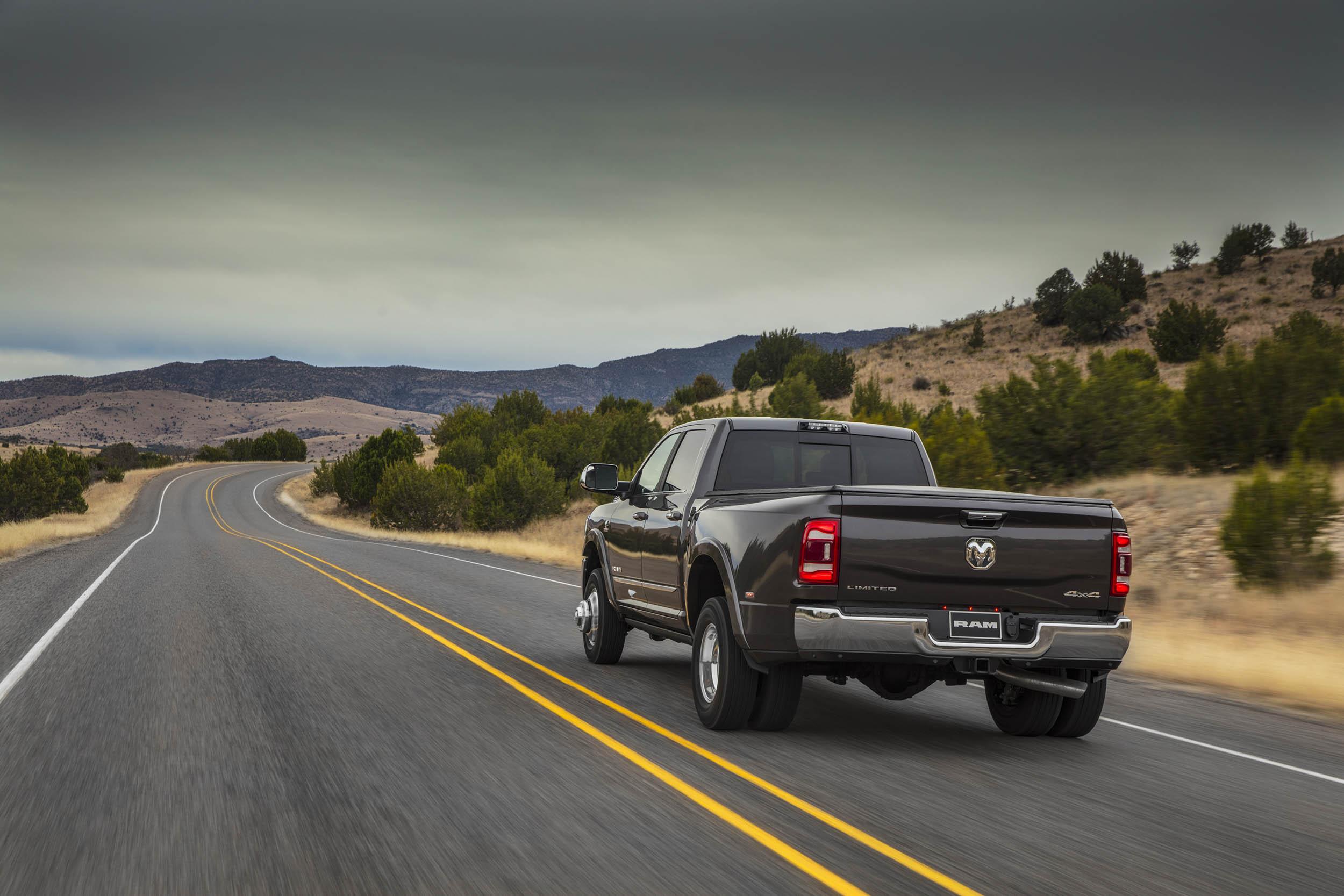 2019 RAM 3500 Dually rear 3/4