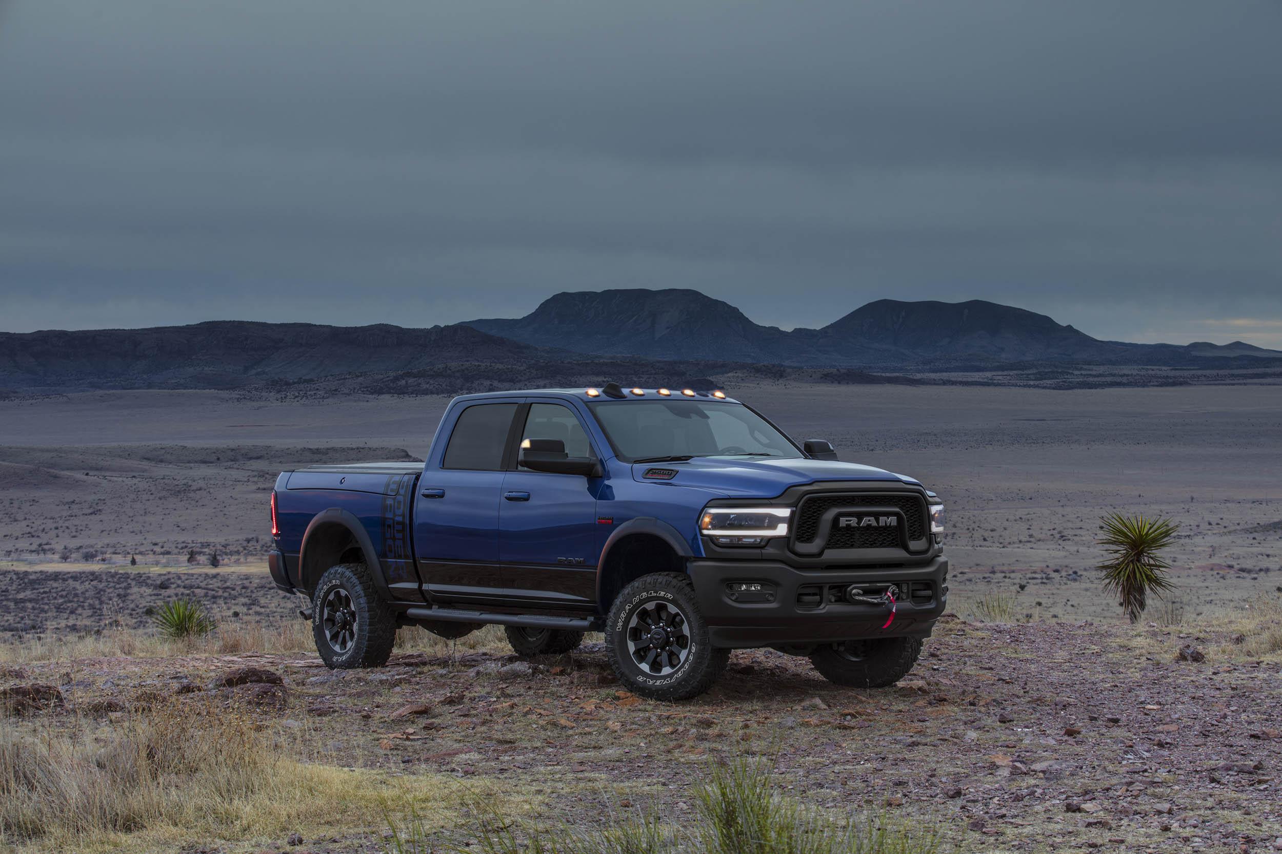 2019 RAM Power Wagon front 3/4