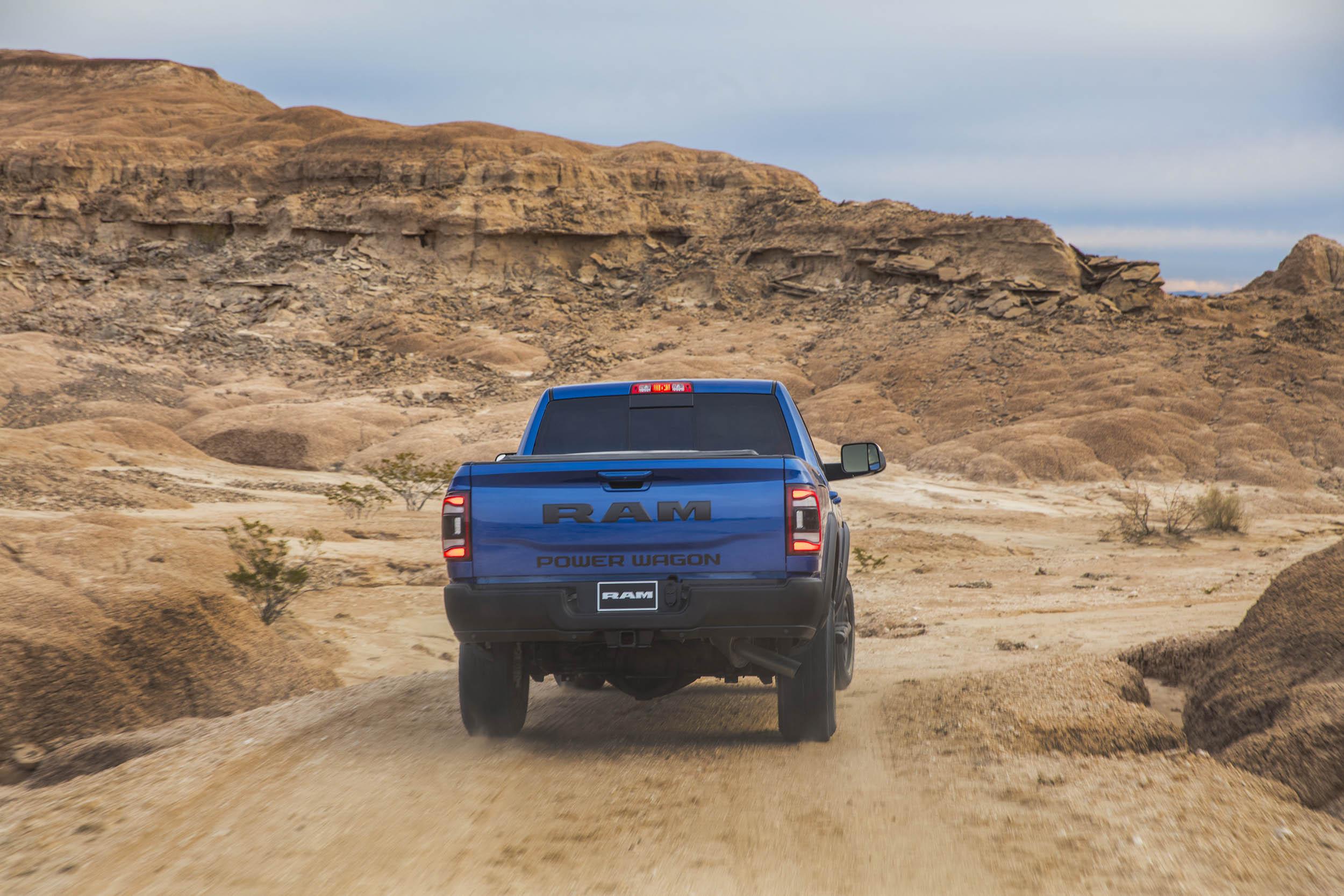 2019 RAM Power Wagon rear 3/4