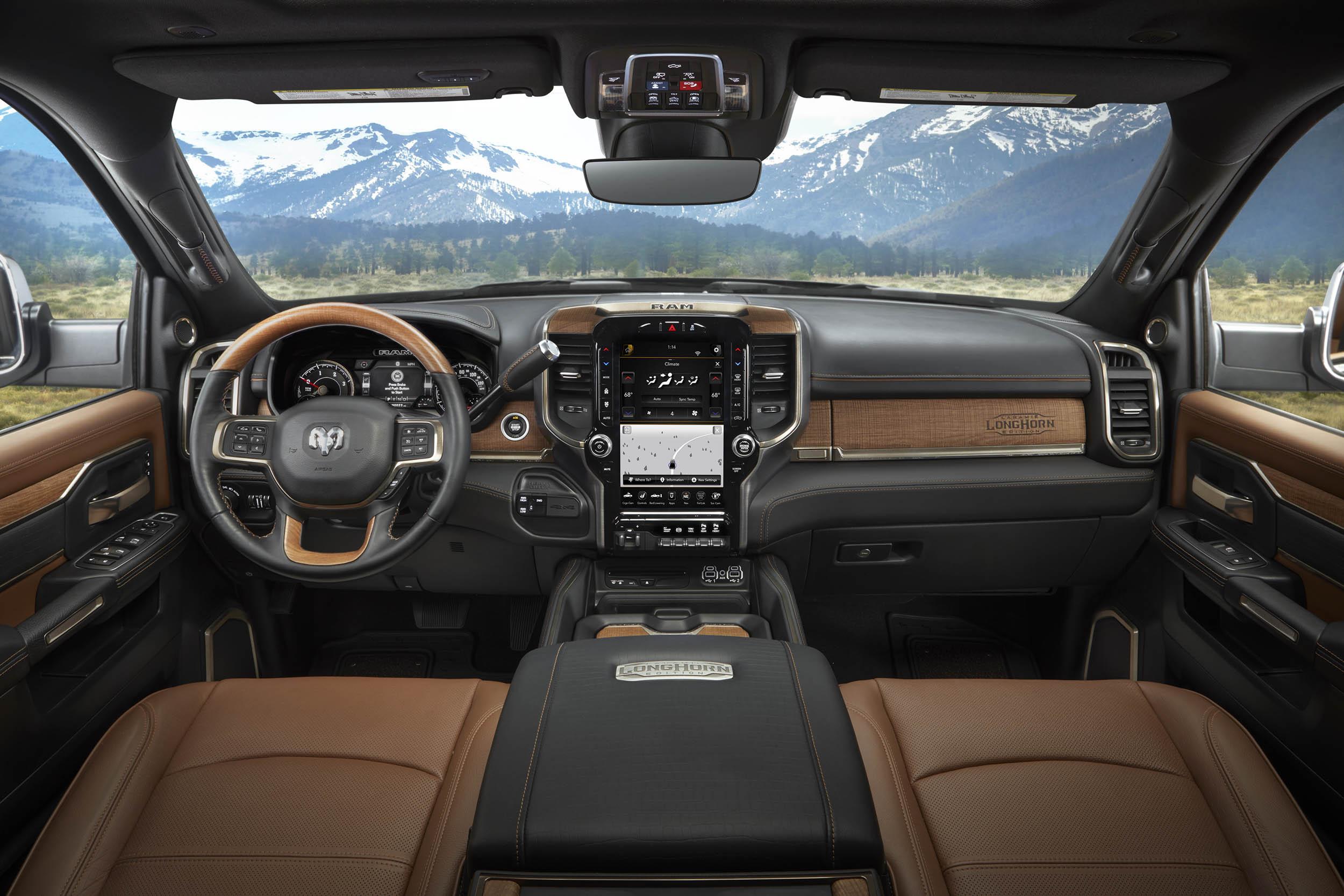 2019 RAM 2500 LongHorn interior