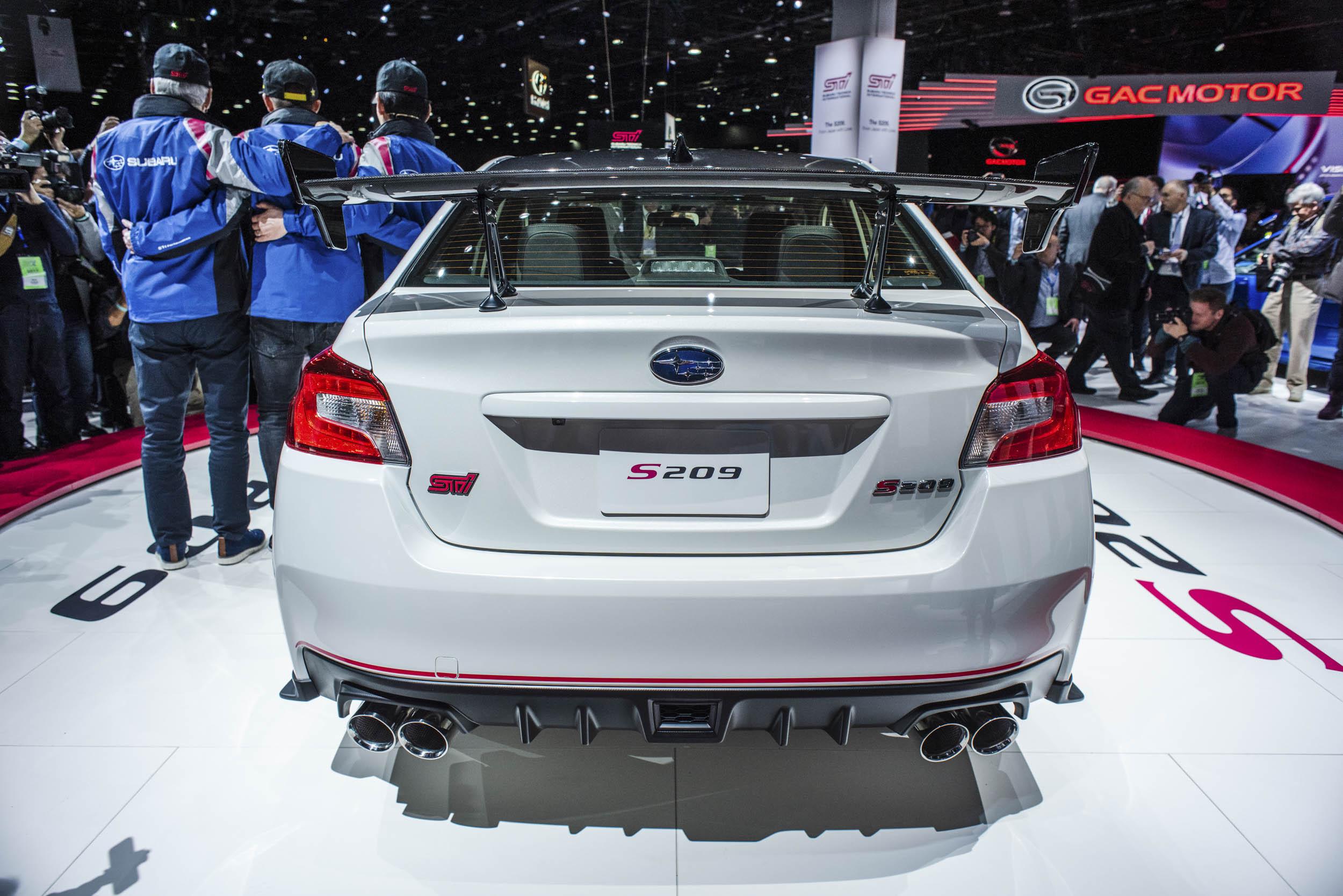 2020 Subaru WRX STI S209 back