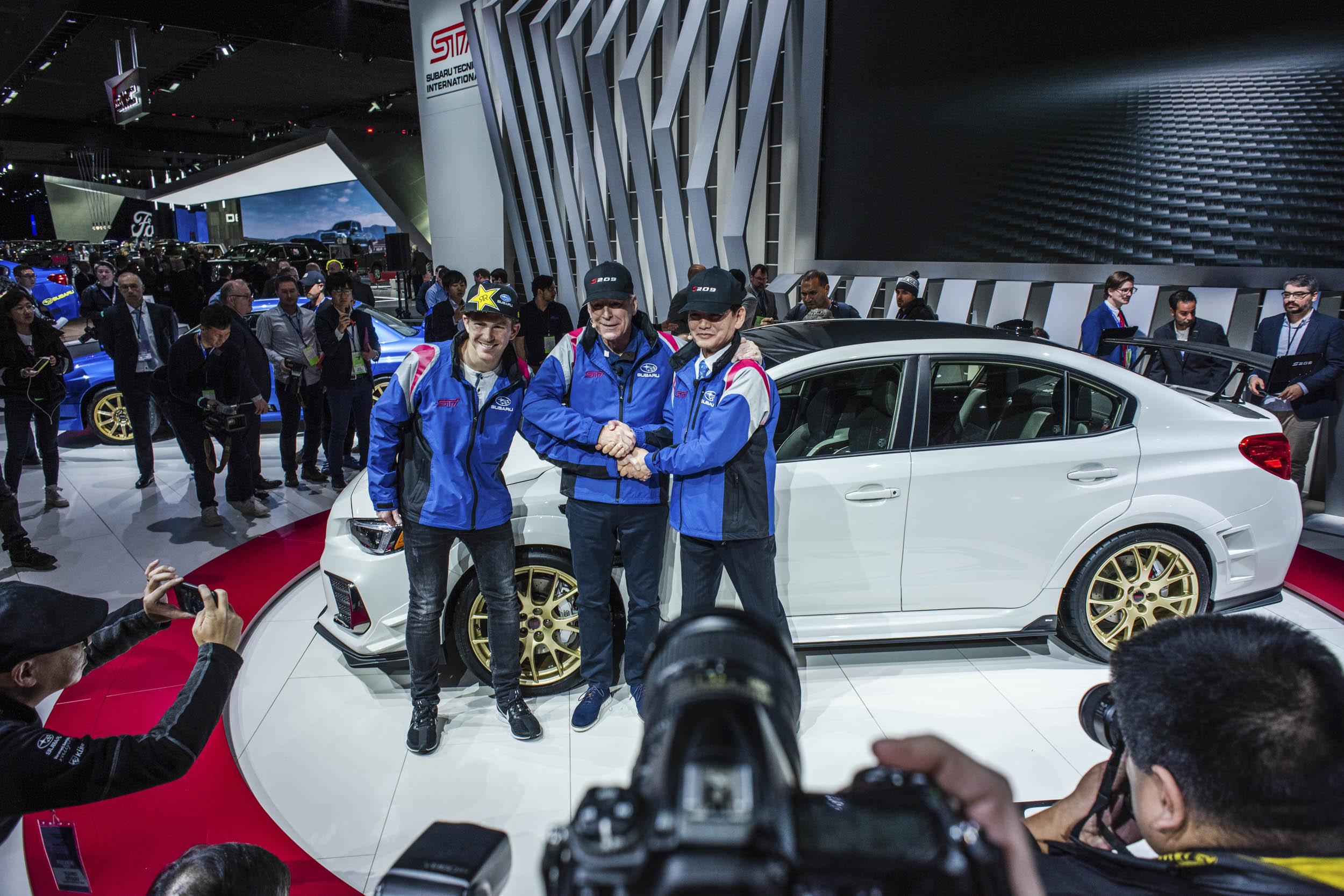 2020 Subaru WRX STI S209 unveiled at the NAIAS