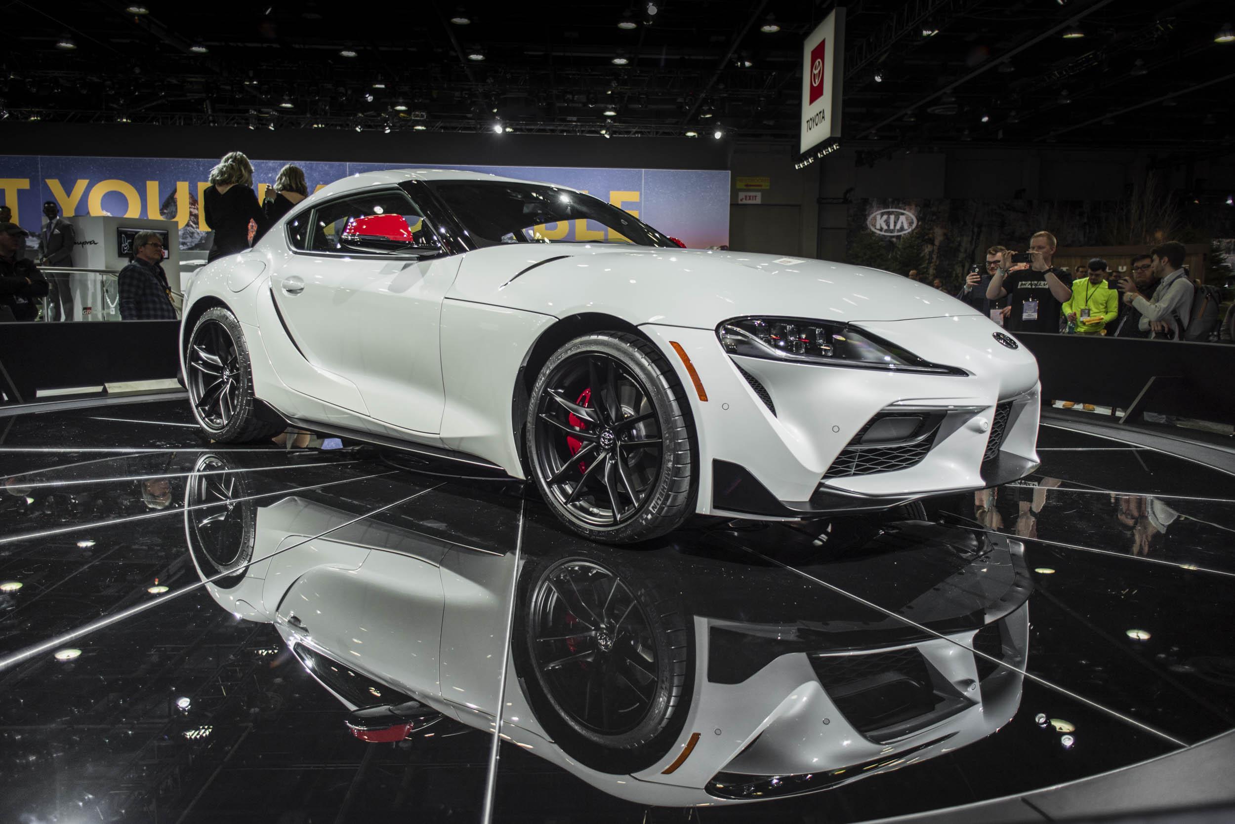 2020 Toyota Supra front 3/4