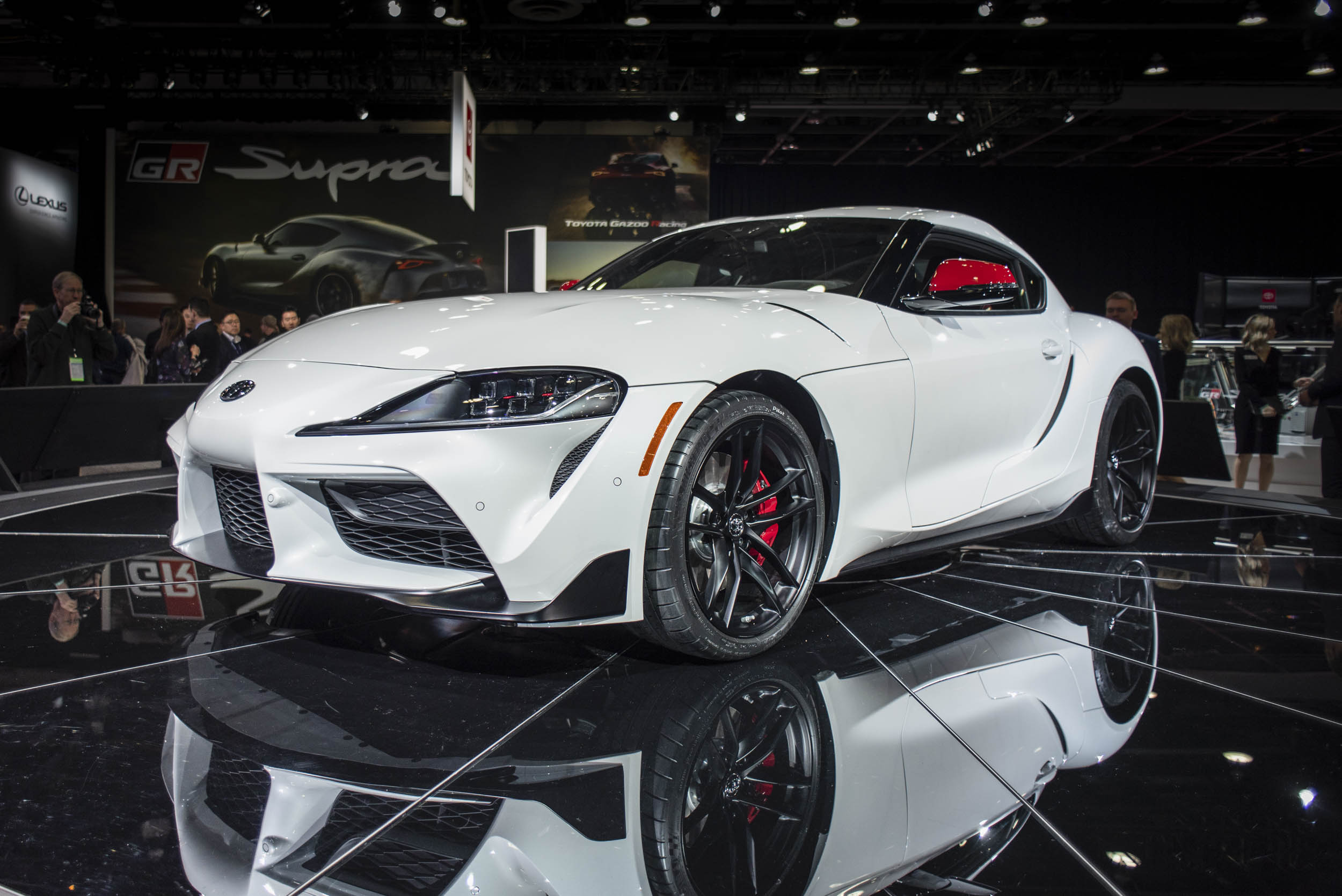 2020 Toyota Supra driver side front 3/4