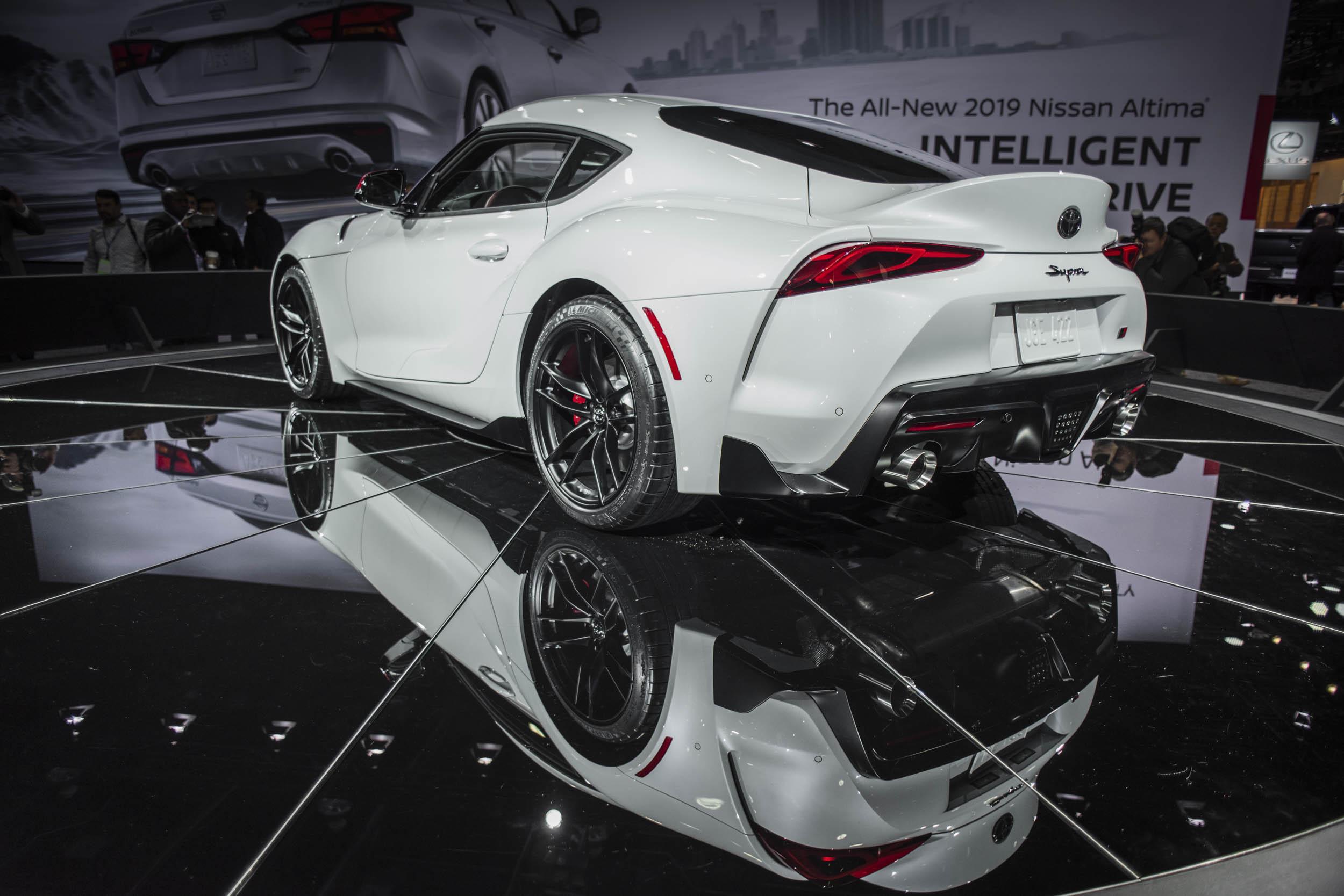 2020 Toyota Supra rear 3/4