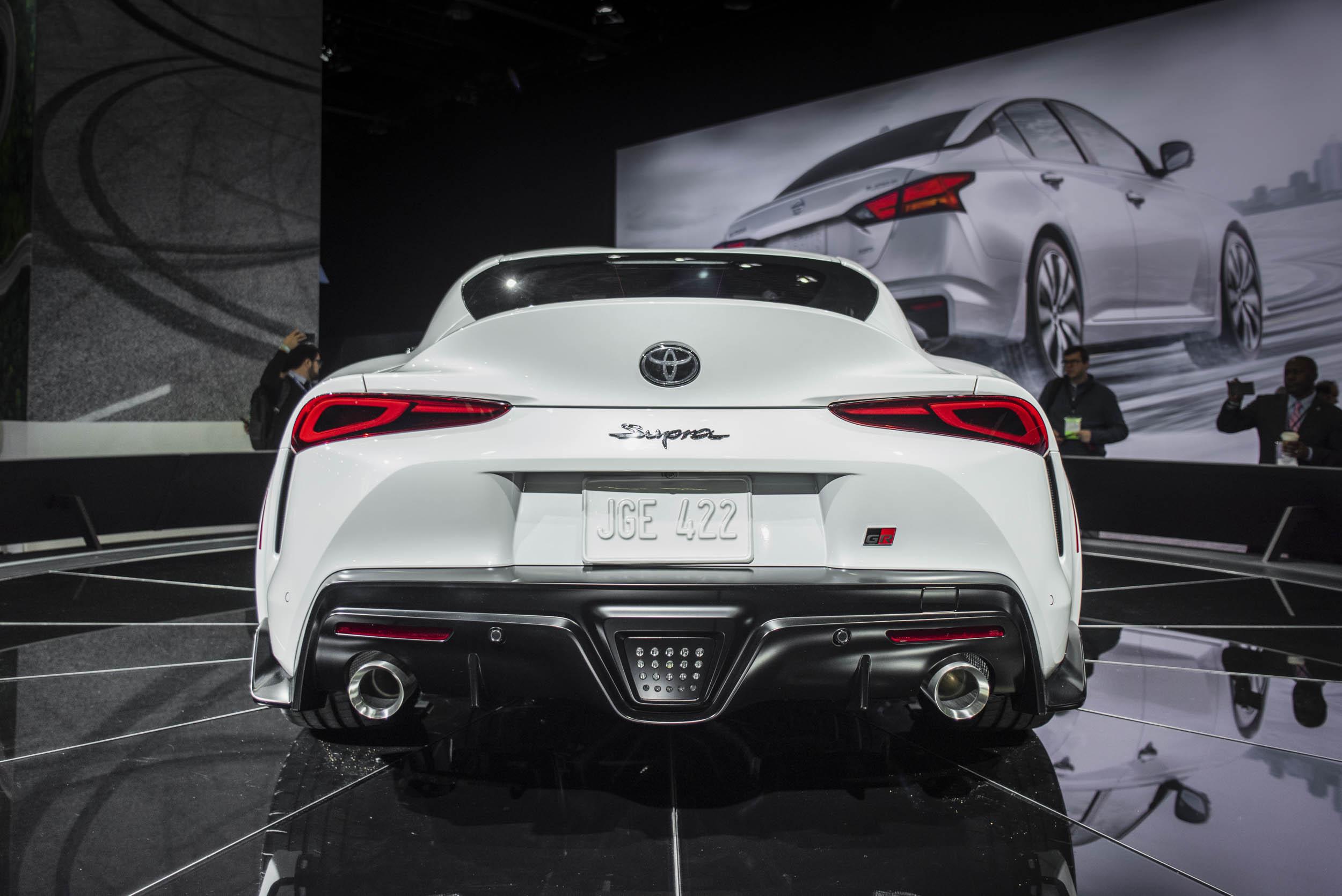 2020 Toyota Supra rear