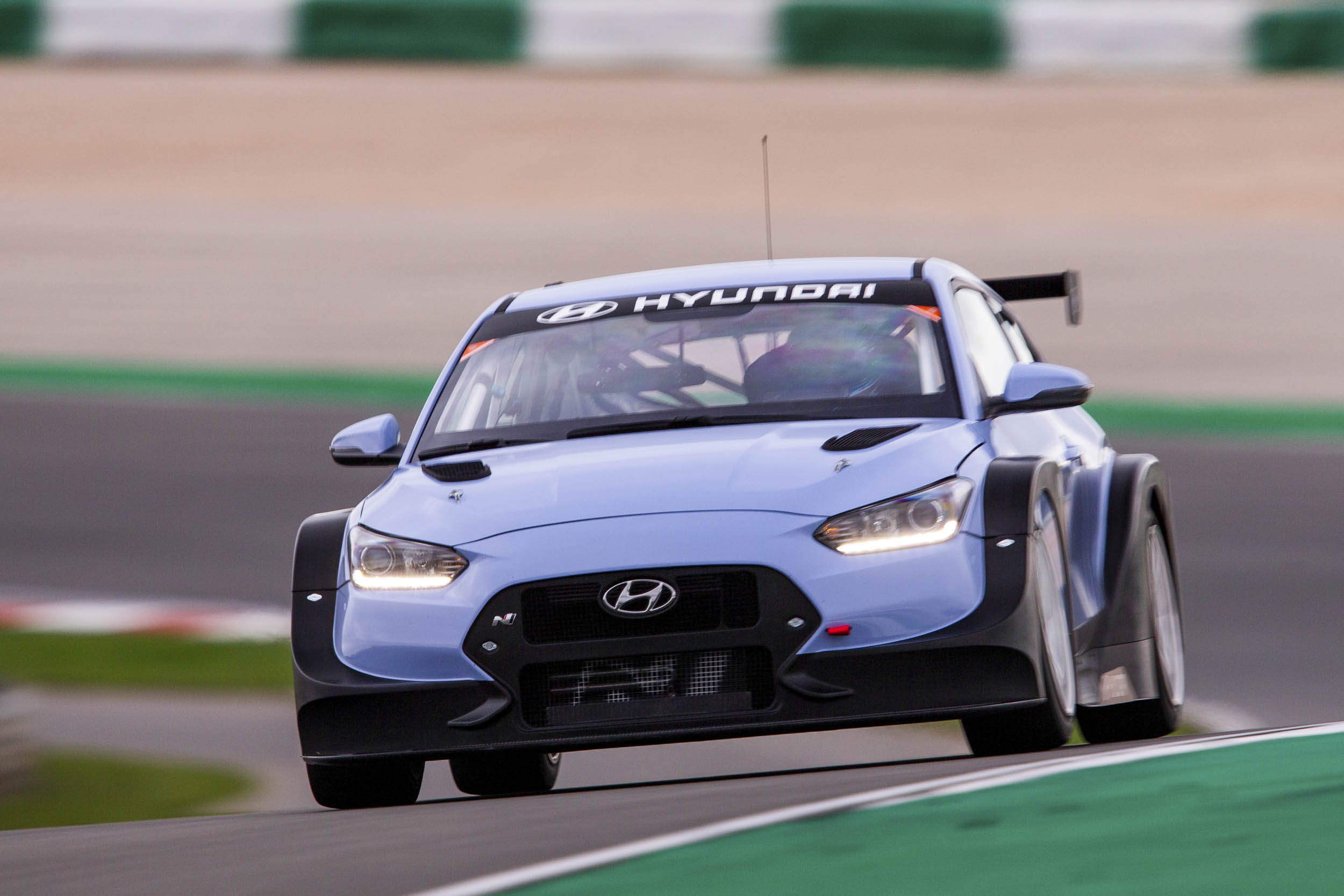 Hyundai Veloster N TCR race car