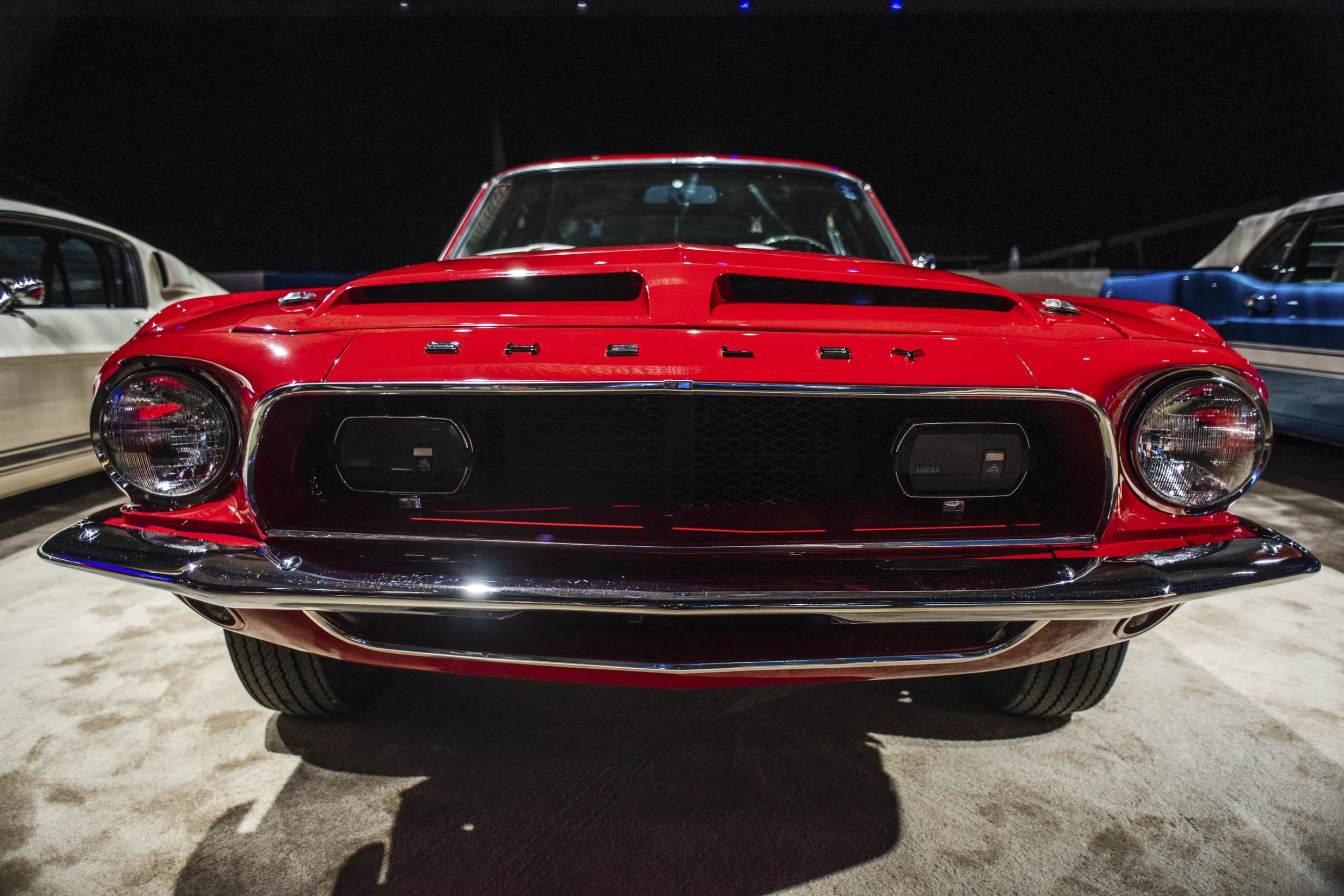 Red Vintage GT500 front