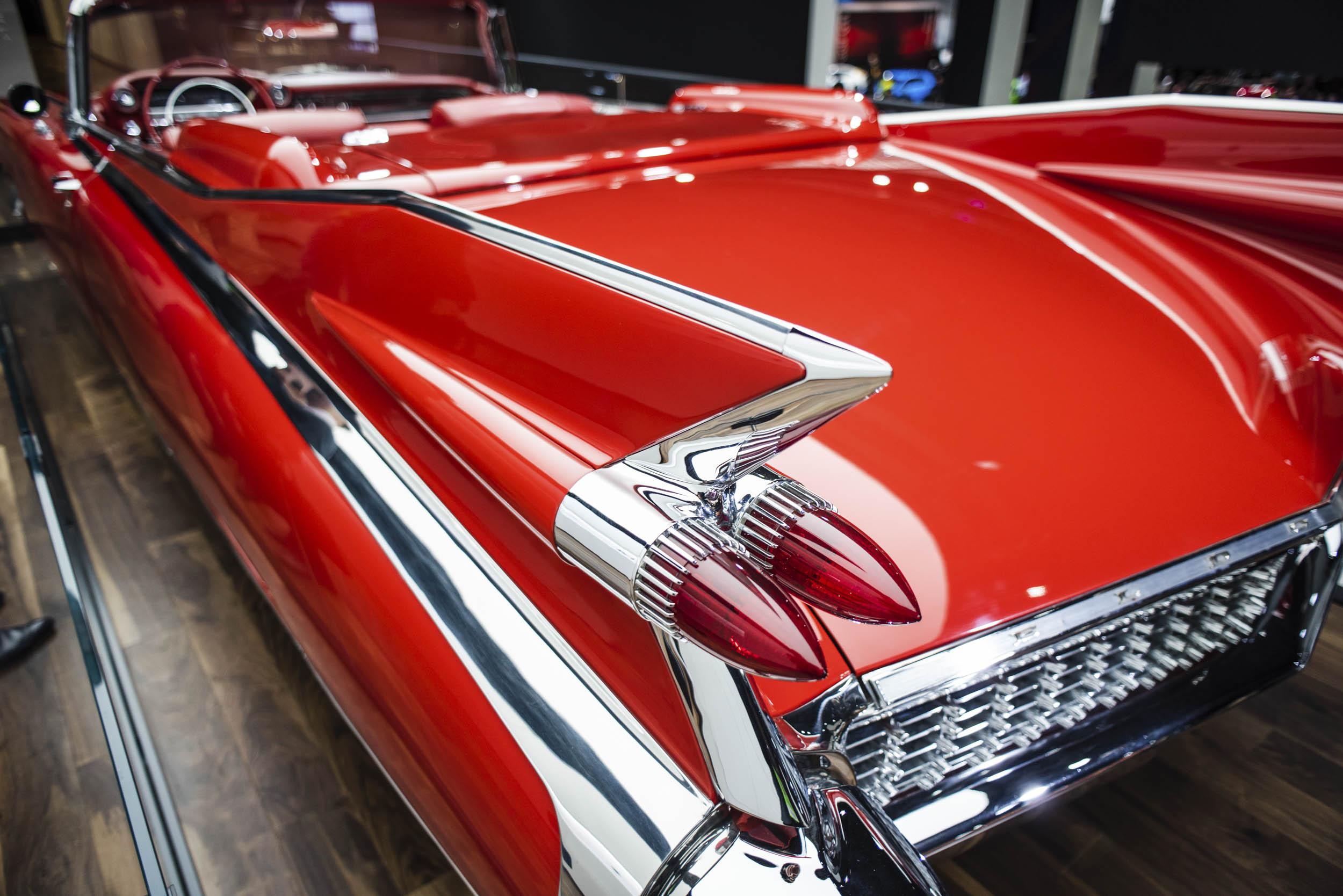 1959 Cadillac Eldorado tail light detail