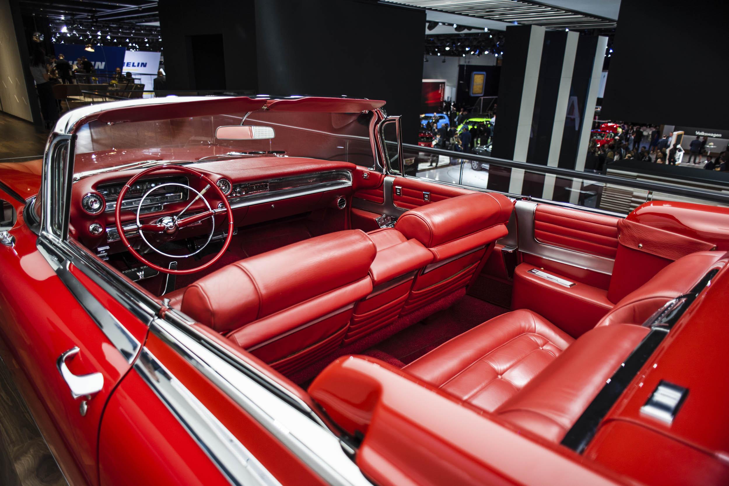 1959 Cadillac Eldorado interior