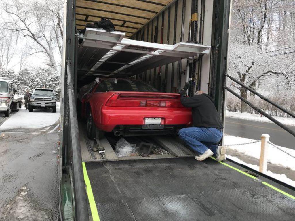 Zanardi Edition Acura NSX shipped