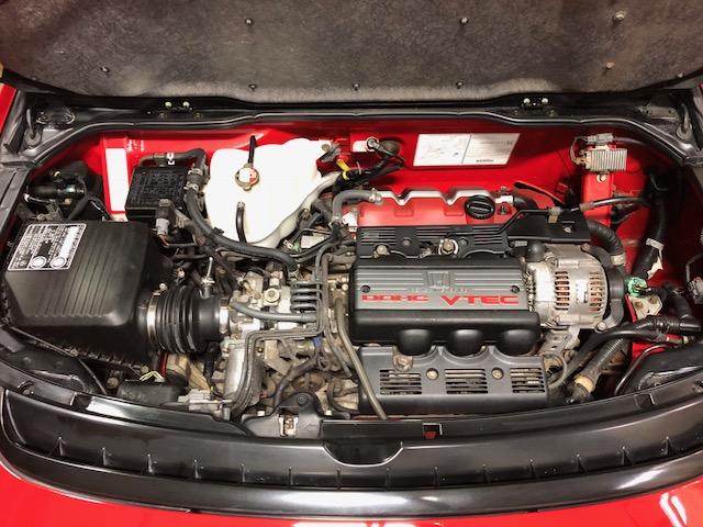 Zanardi Edition Acura NSX engine