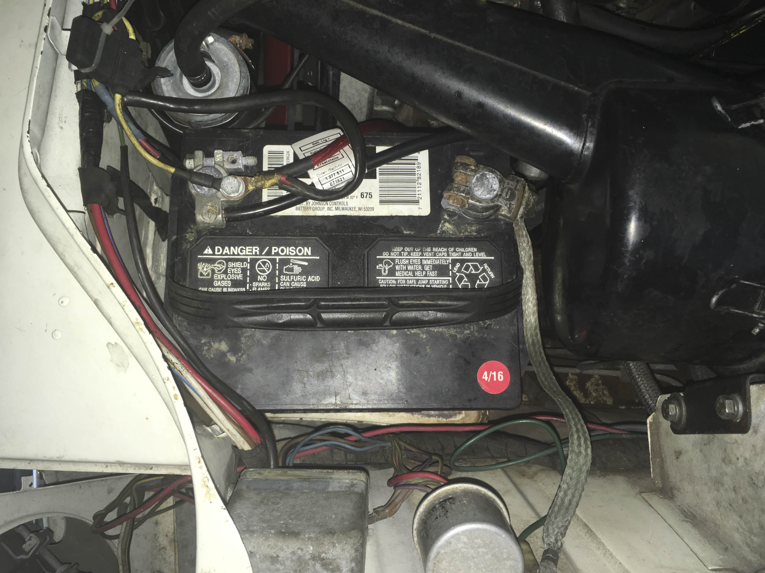 My 2002tii will take only a group 26R battery.