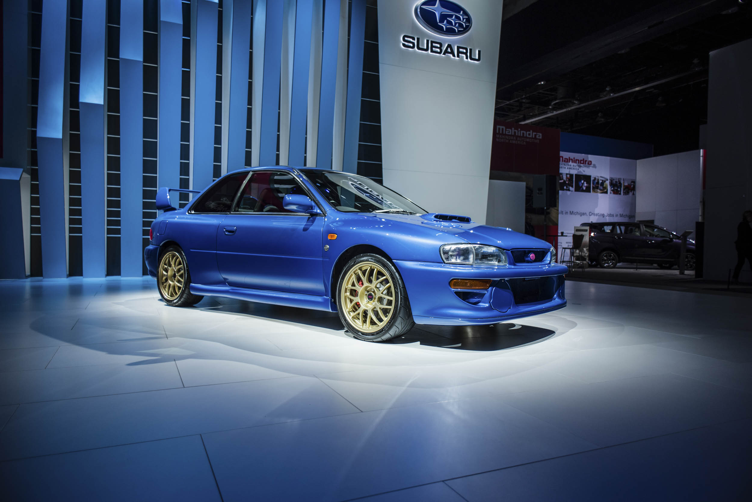 1998 Subaru 22B at the NAIAS