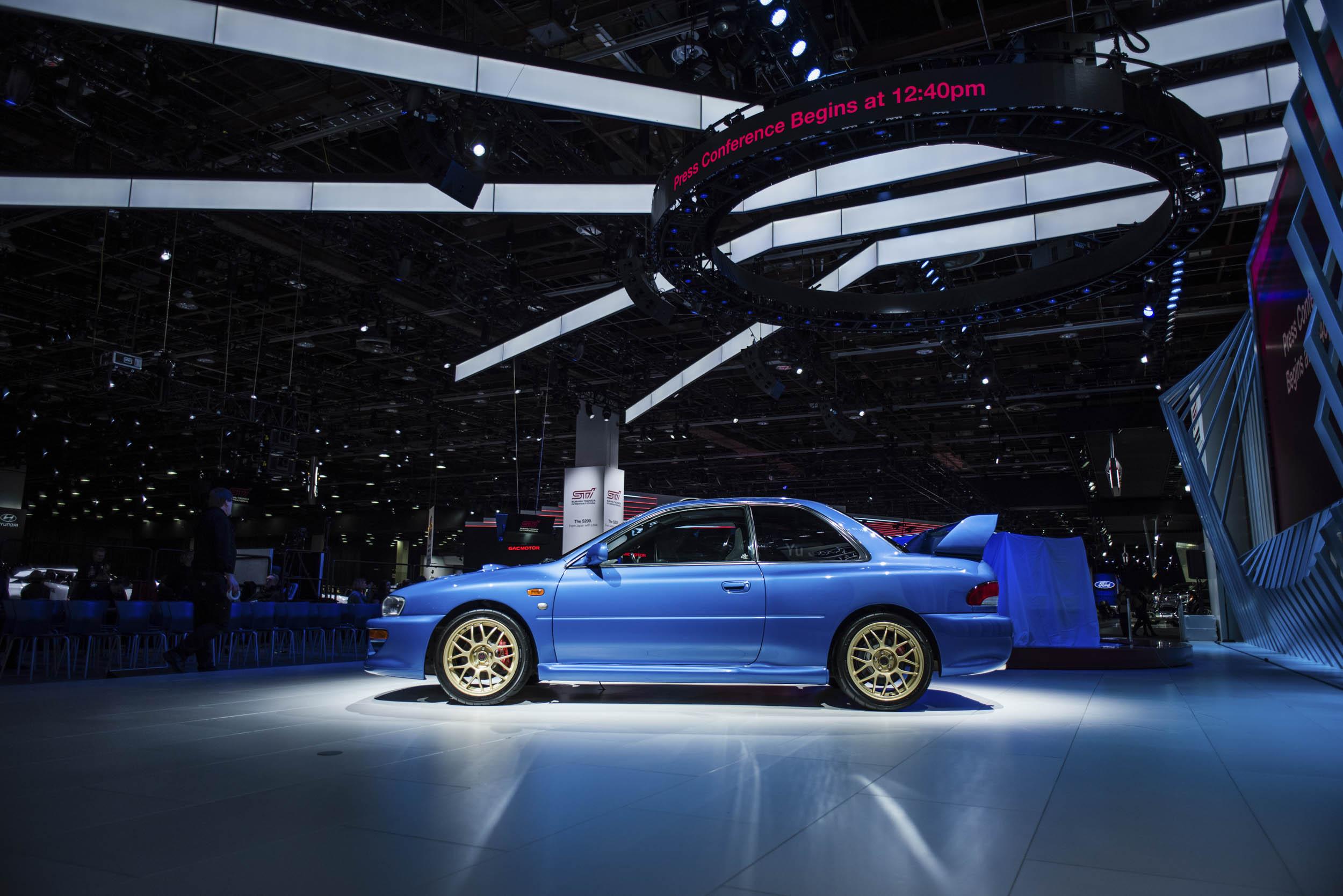 1998 Subaru 22B profile