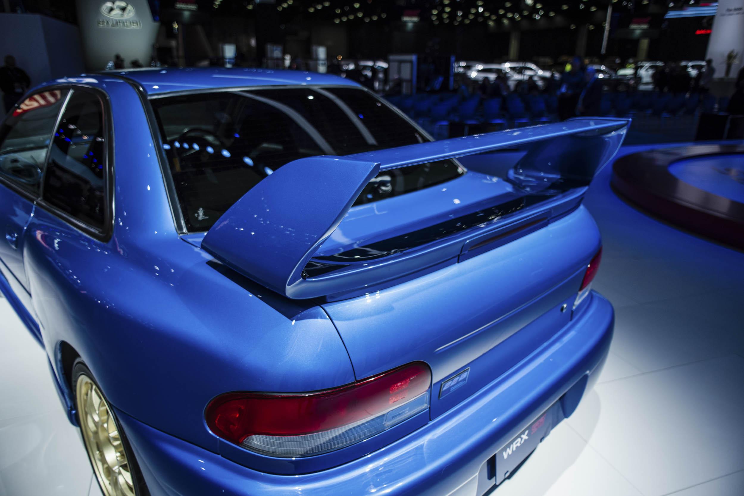 1998 Subaru 22B wing