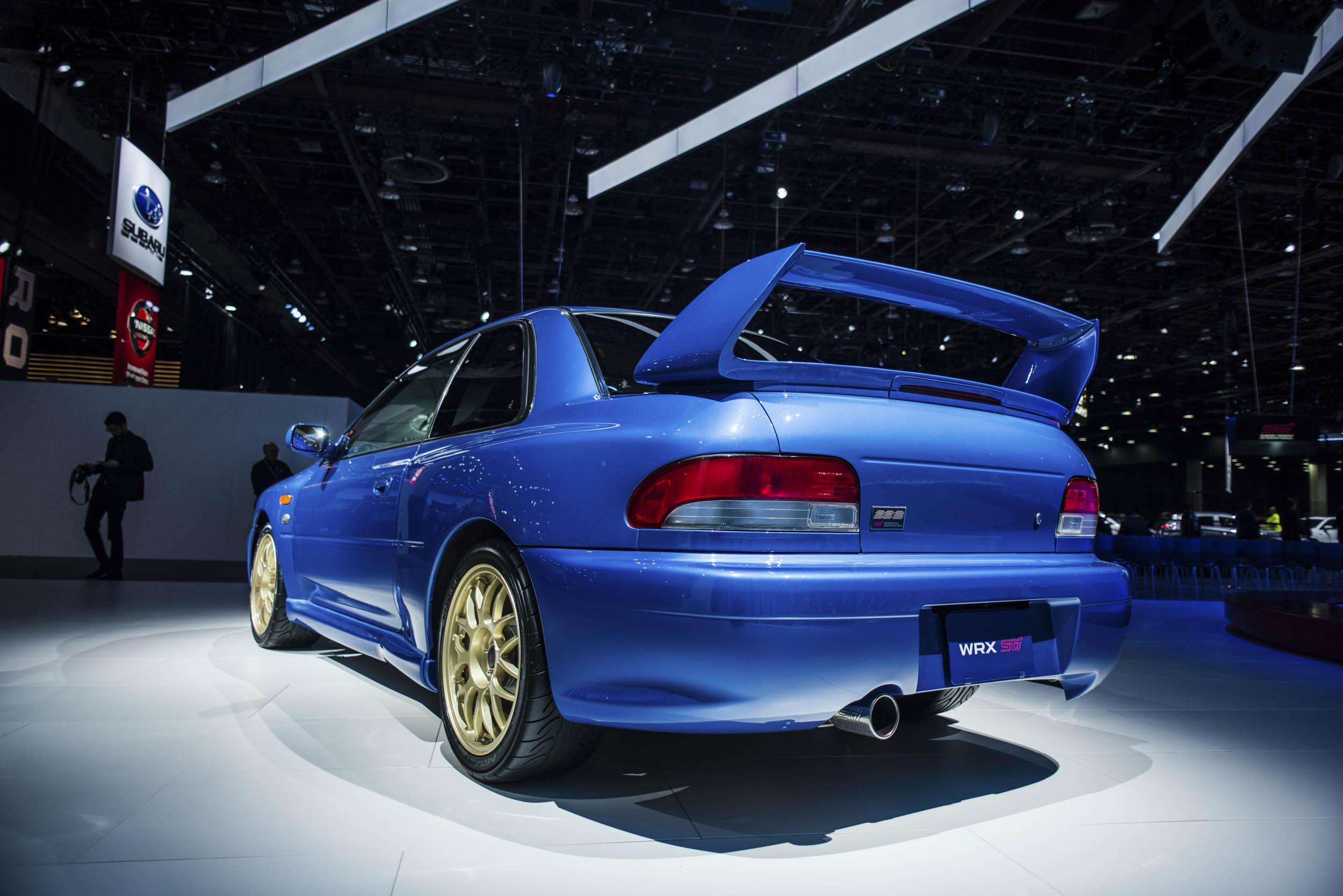 1998 Subaru 22B rear 3/4