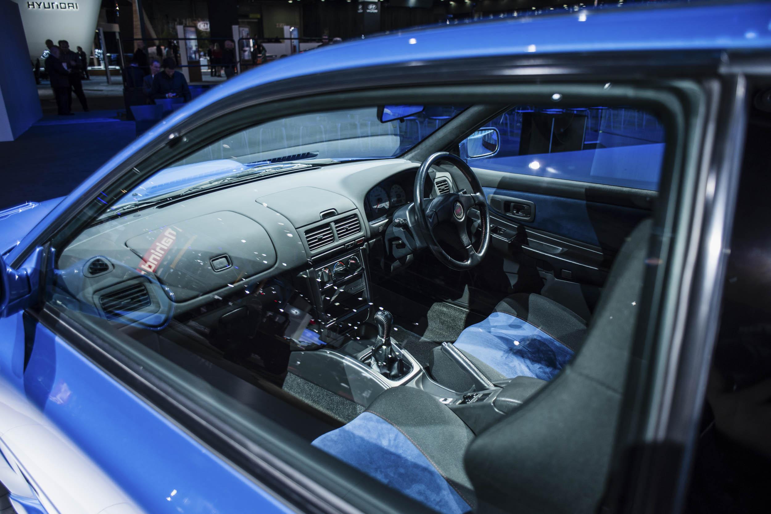 1998 Subaru 22B interior