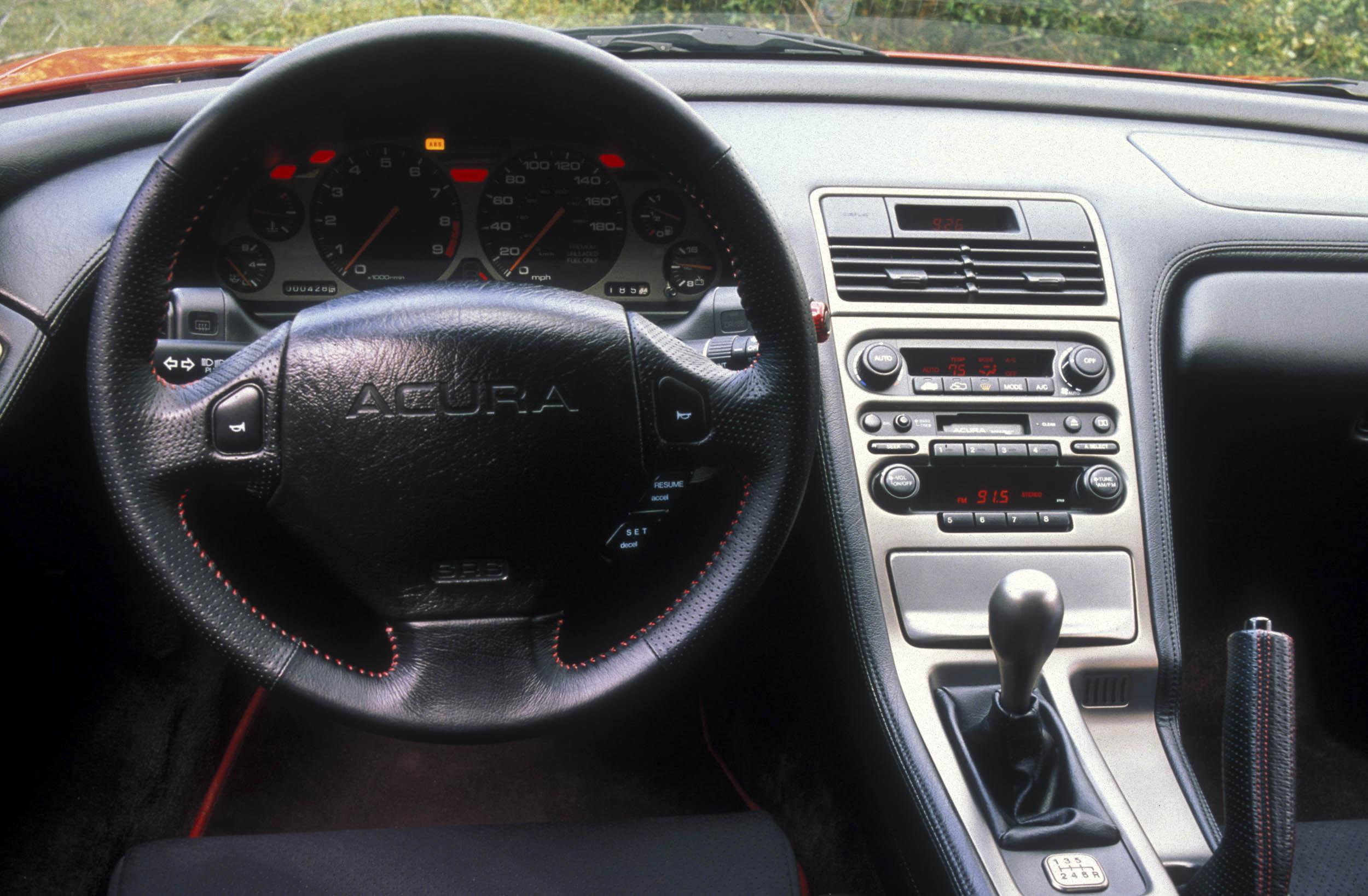 Zanardi Edition Acura NSX steering wheel
