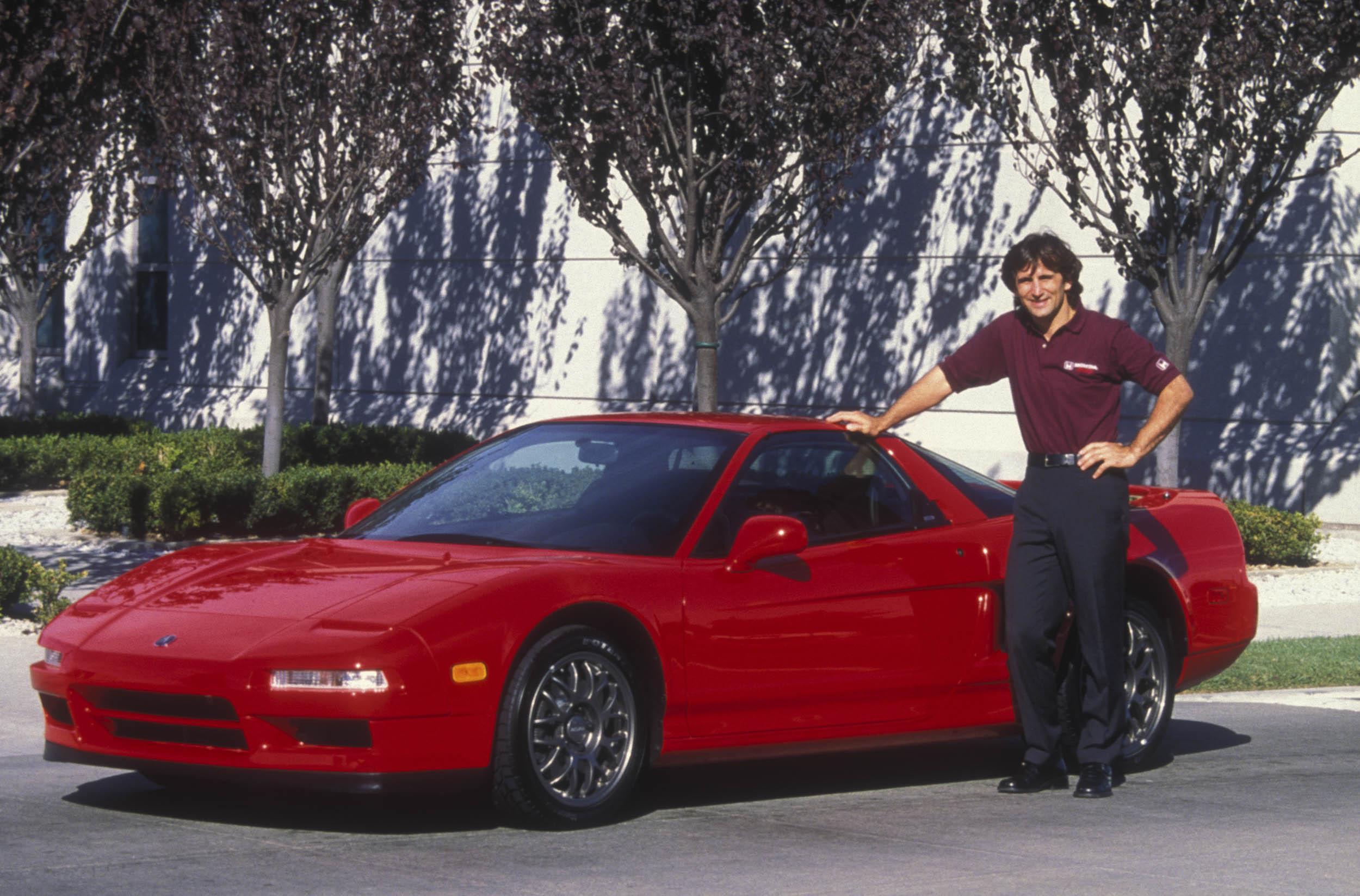 Alex Zanardi With Zanardi Edition Acura NSX