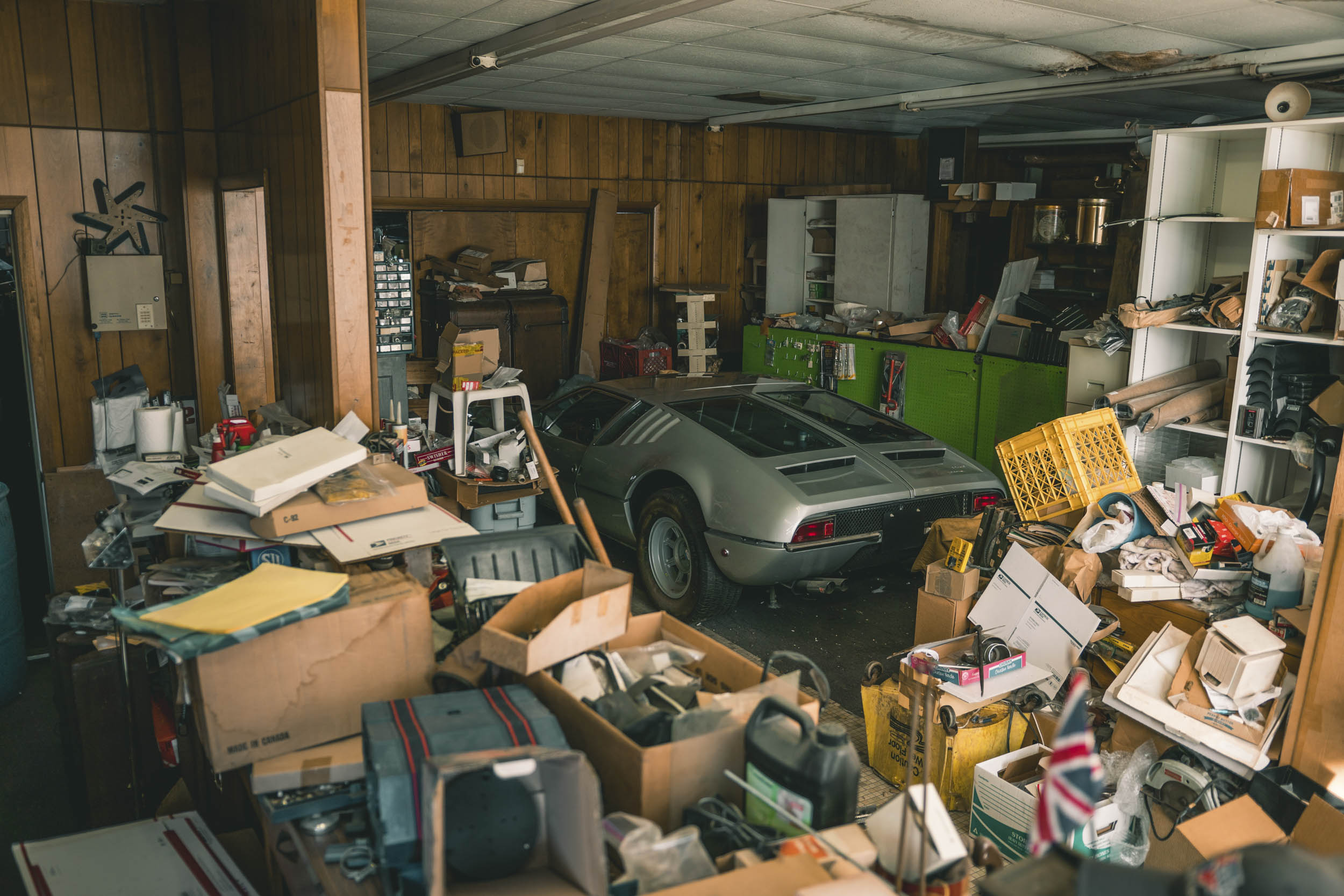 Barn Find Hunter 48 detomaso mangusta