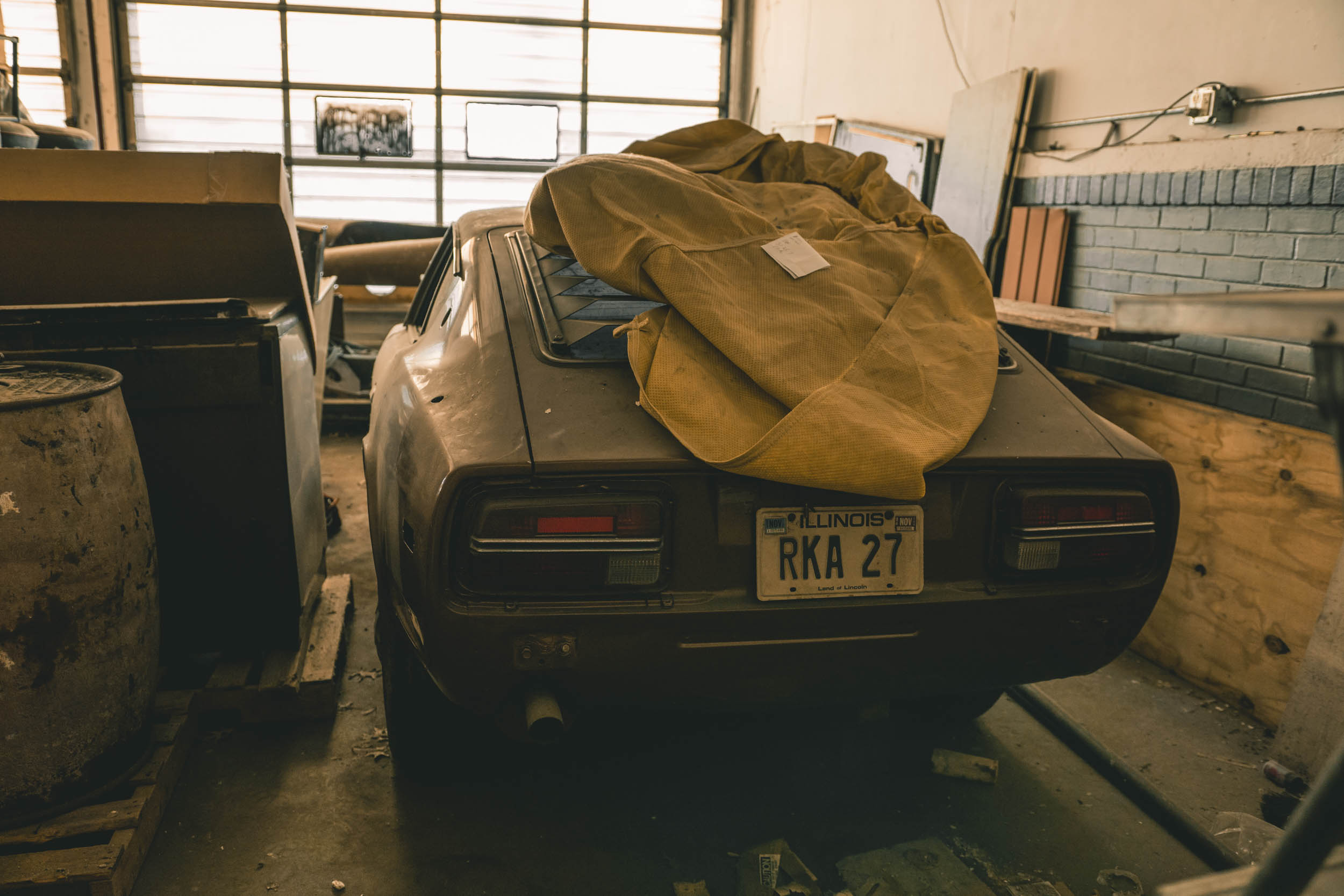 Barn Find Hunter 48 datsun 240z