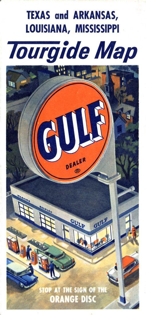 Gulf Tourgide map