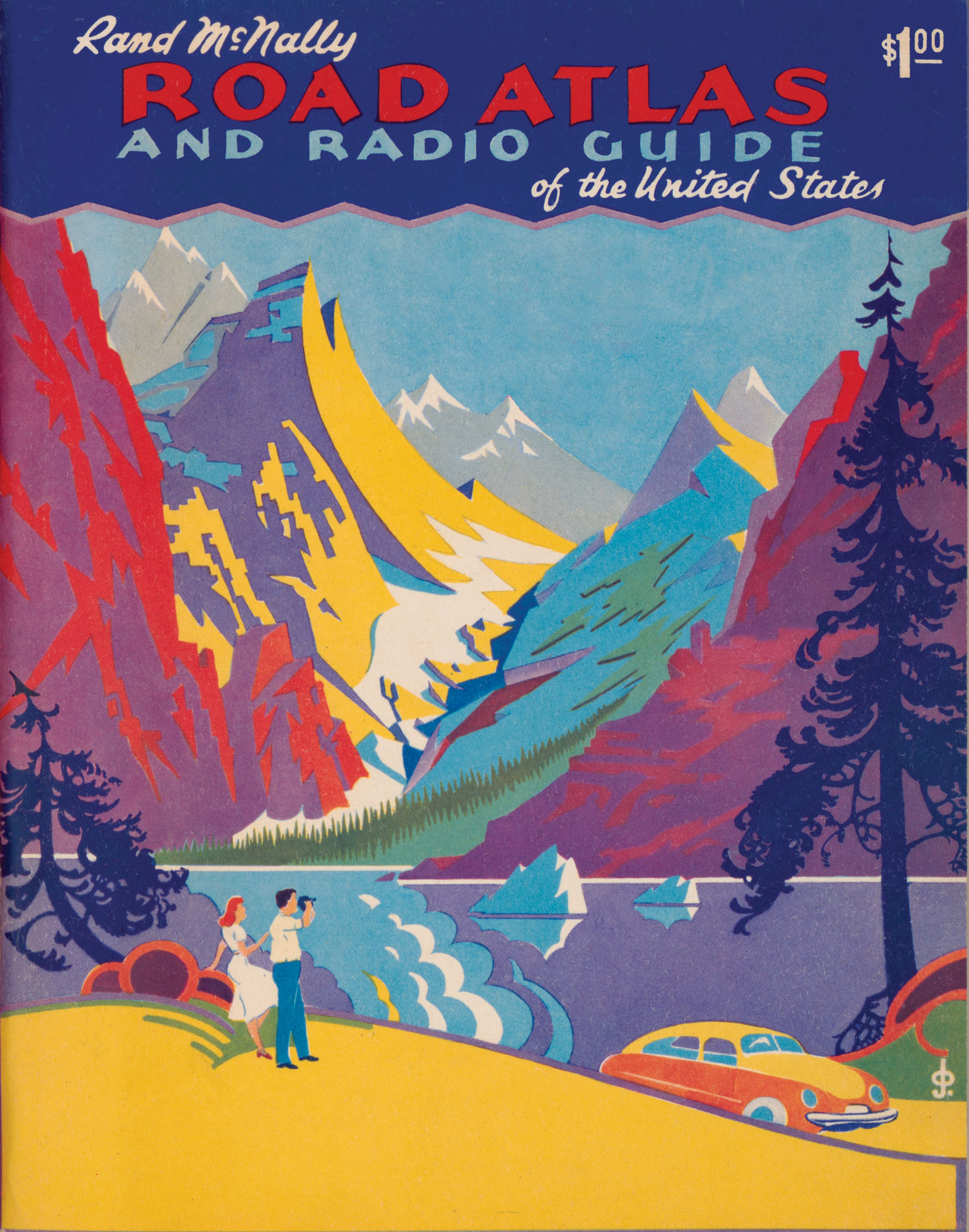 Road Atlas and radio guide of the united states