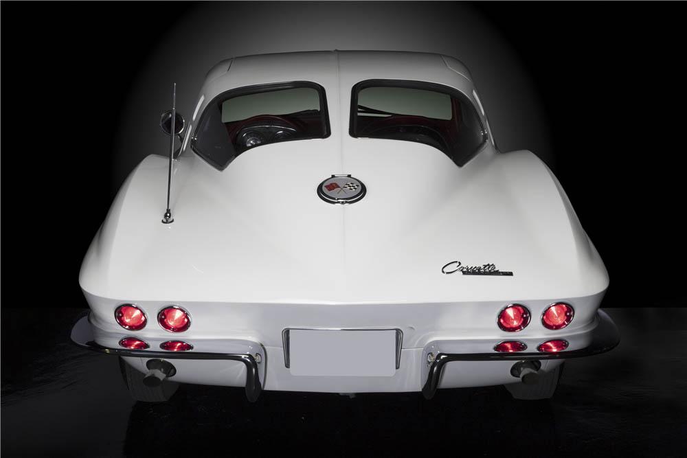 1963 Chevrolet Corvette Split-Window Coupe rear