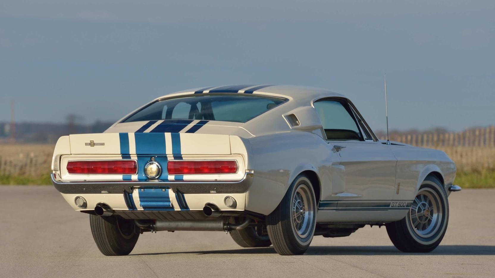1967 Shelby GT500 Super Snake rear 3/4