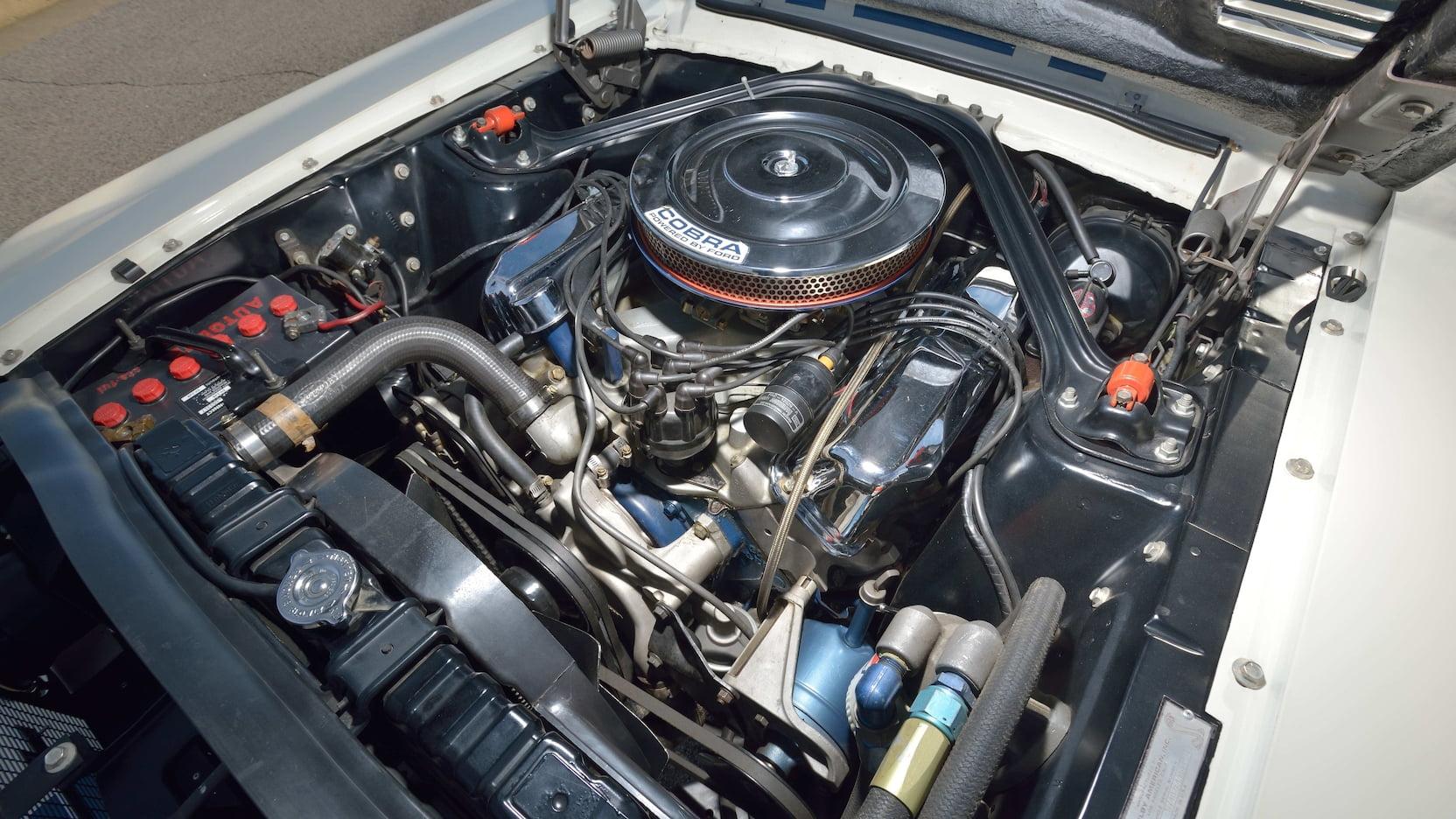 1967 Shelby GT500 Super Snake engine