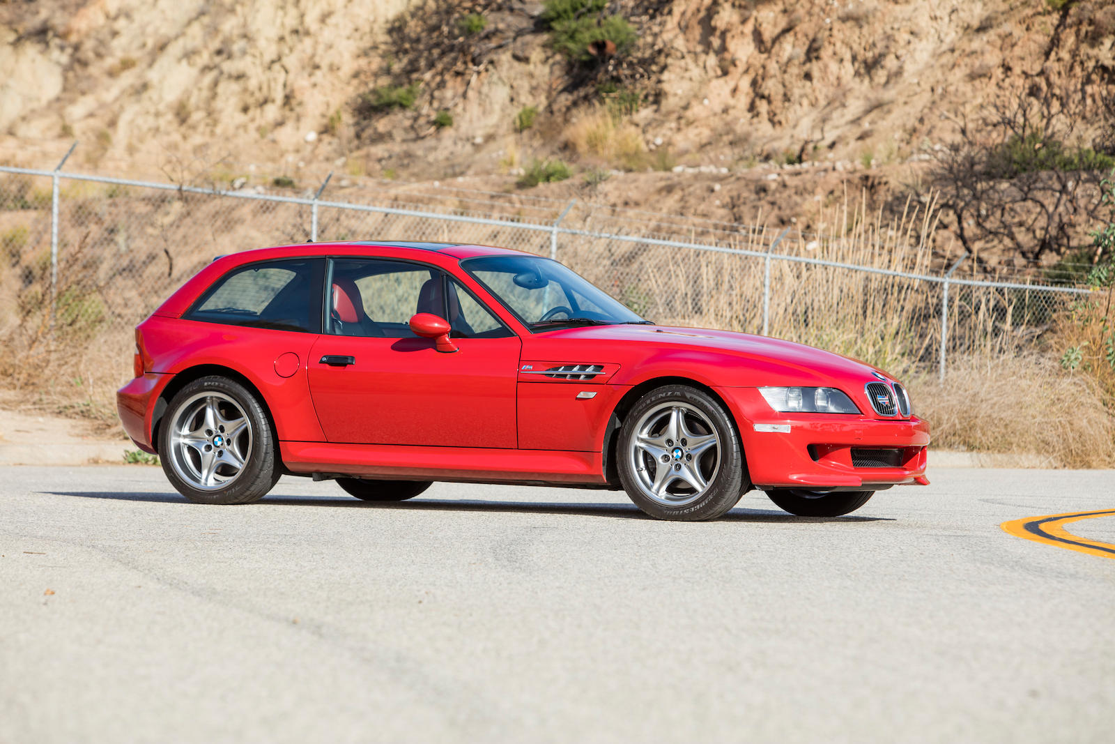 2002 BMW Z3 M Coupe front side