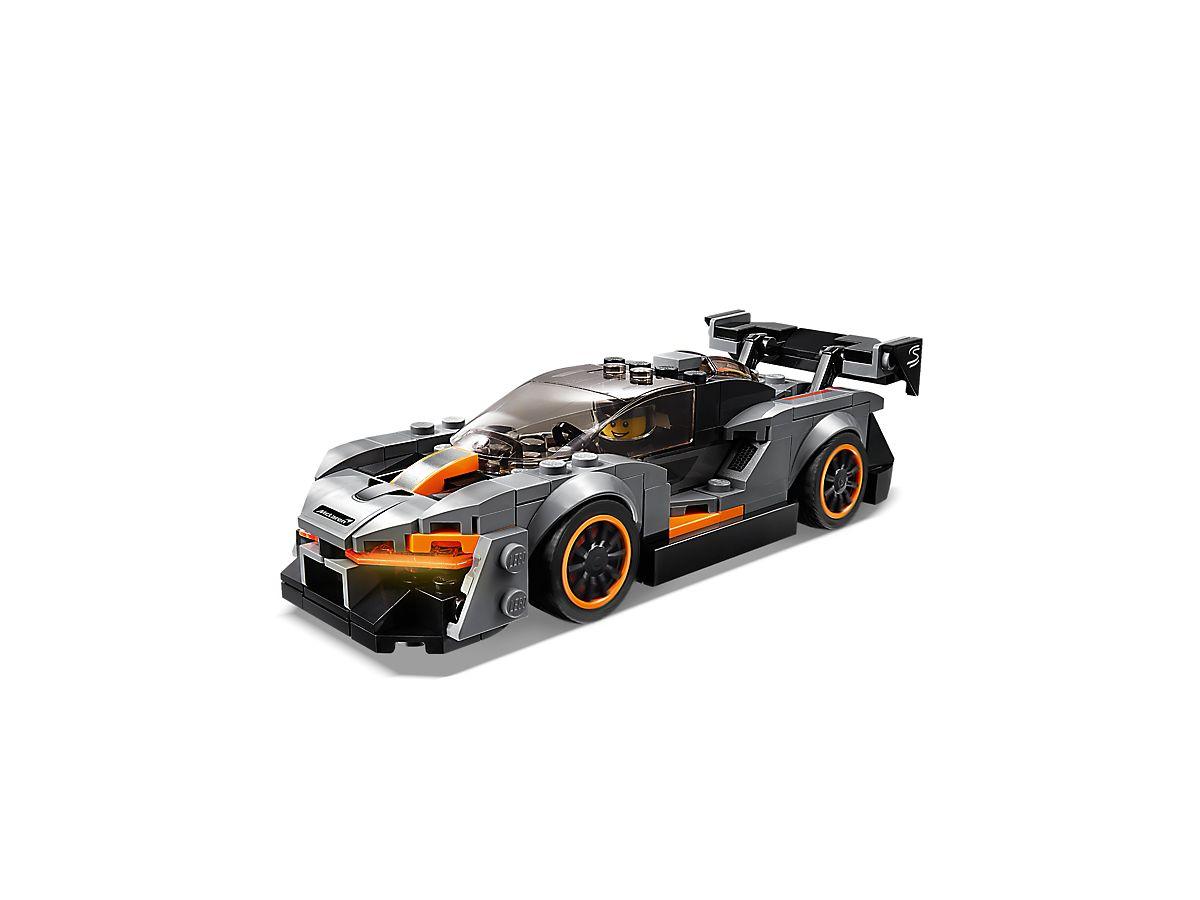 LEGO McLaren Senna front 3/4