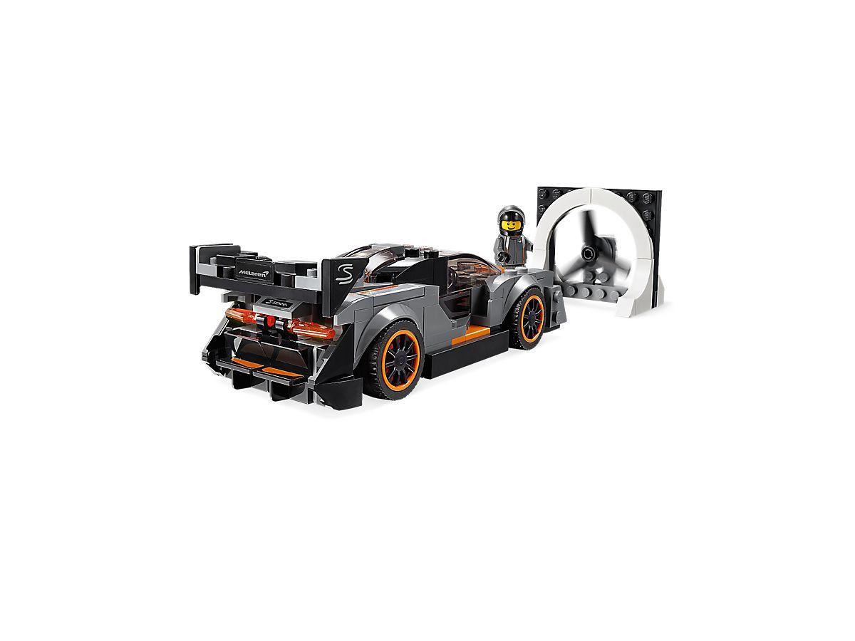 LEGO McLaren Senna rear 3/4