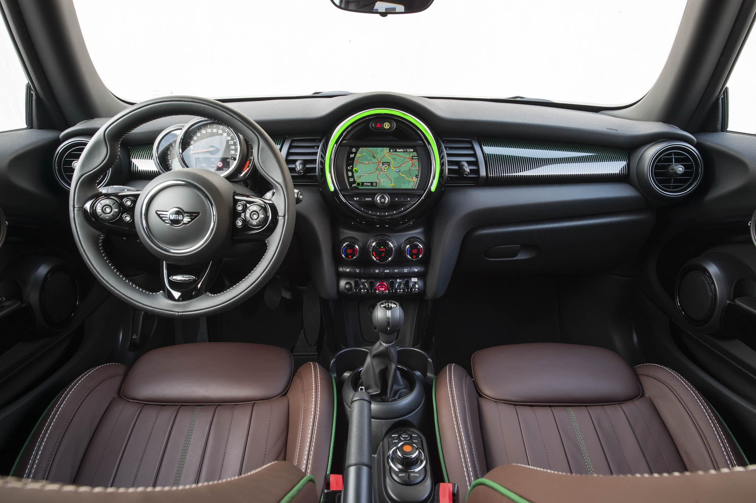 60th anniversary Mini Cooper interior