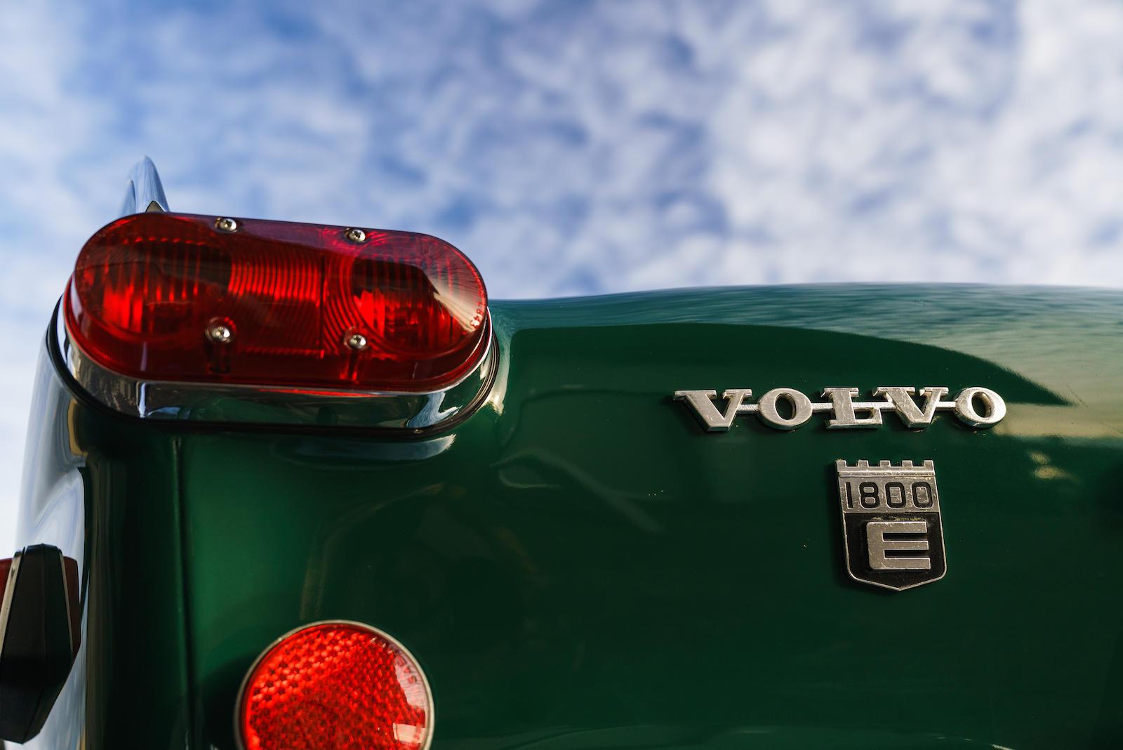 1972 Volvo 1800E tail light