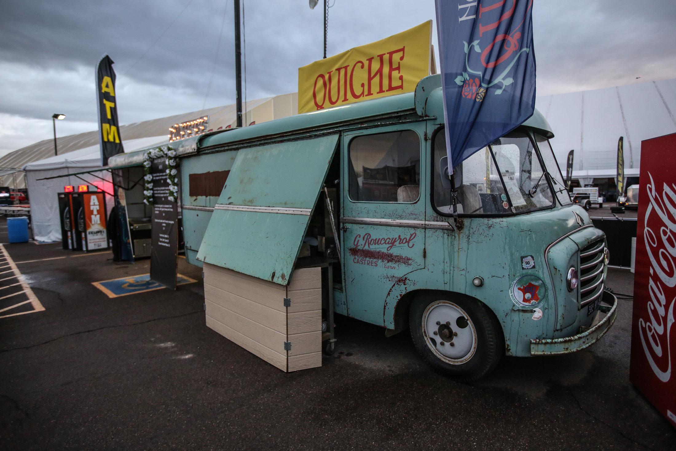 Citroën food truck