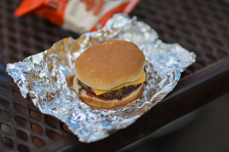 Burger at Barrett-Jackson